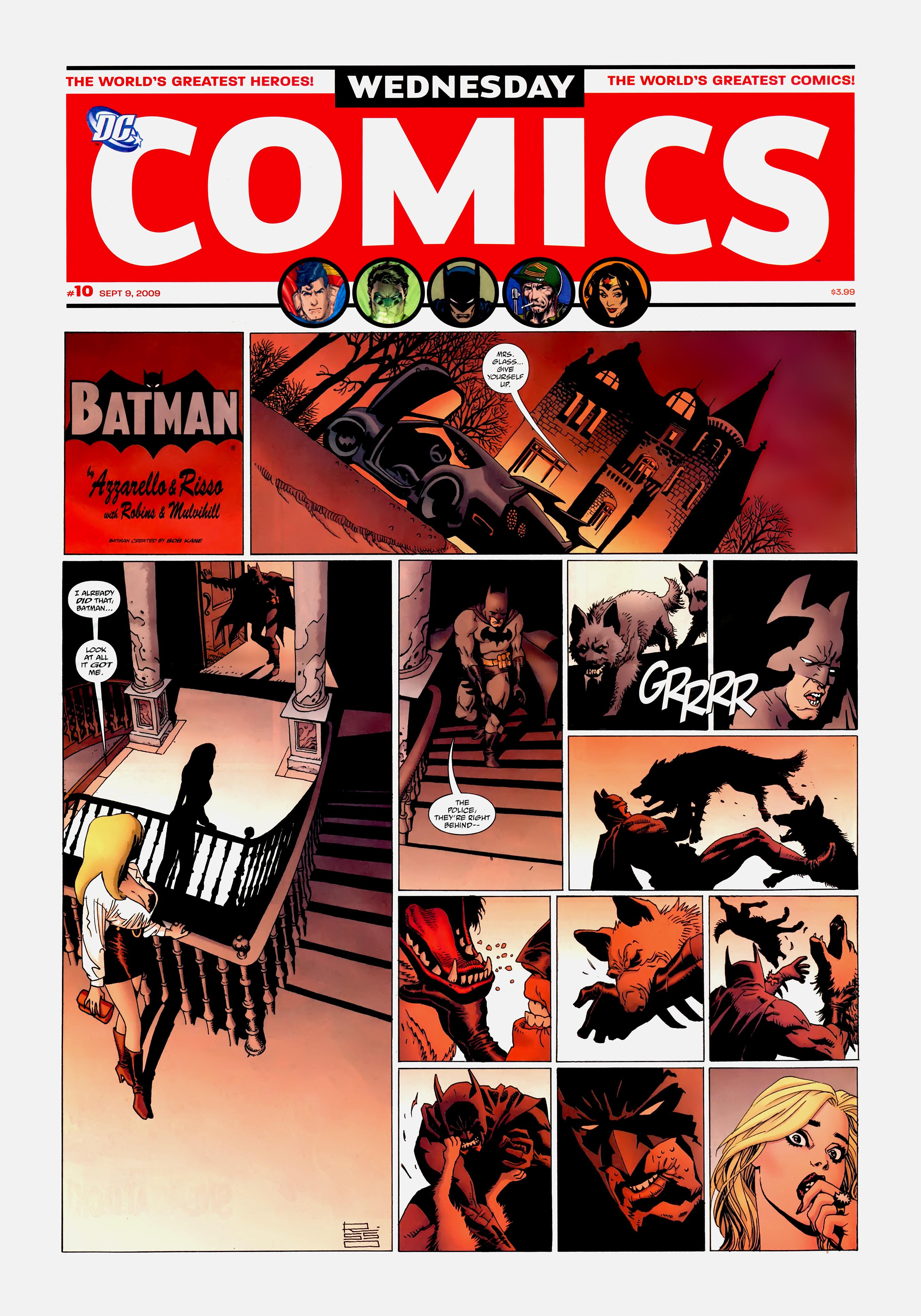 Read online Wednesday Comics comic -  Issue #10 - 2