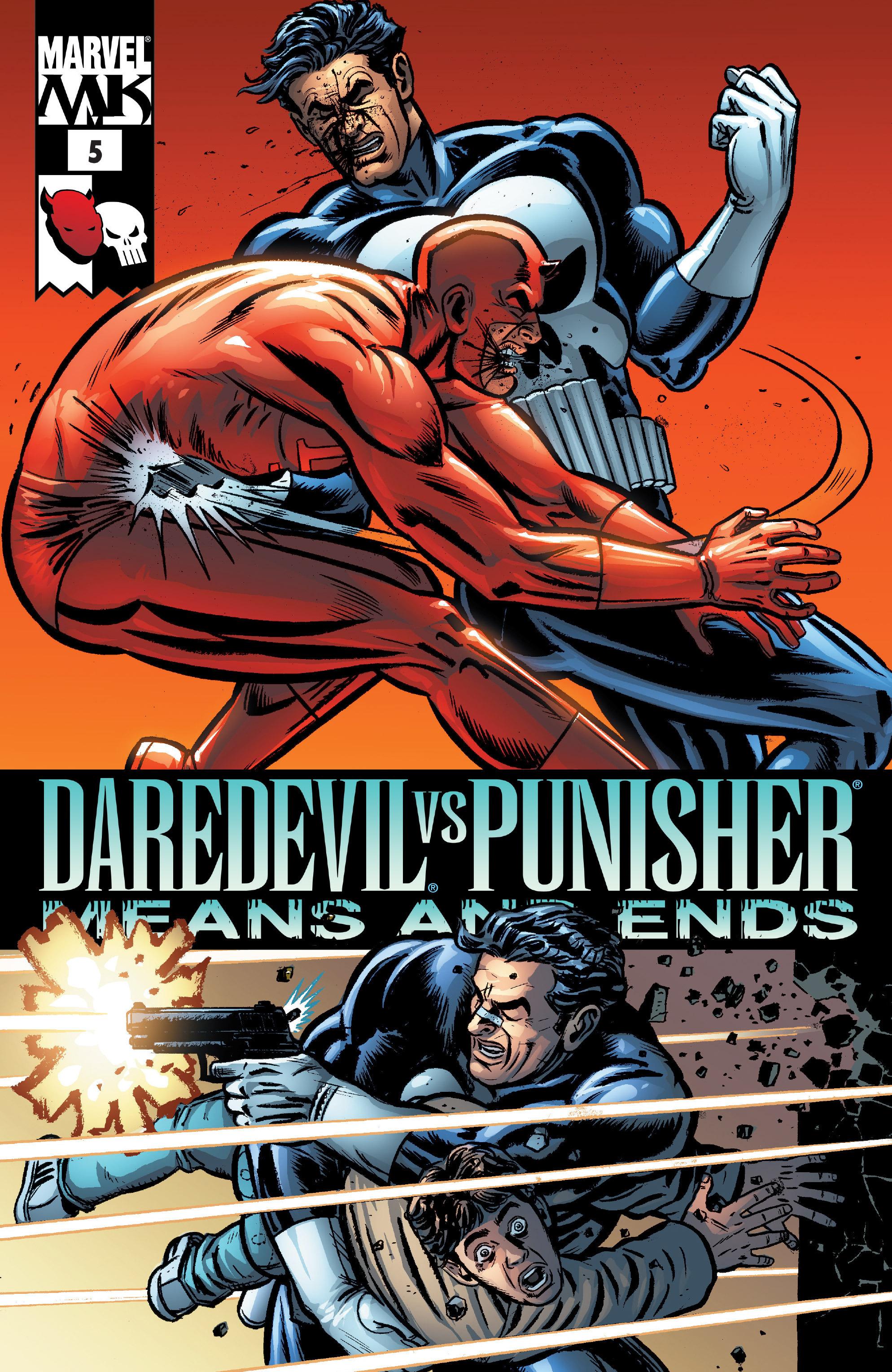 Daredevil vs. Punisher 5 Page 1