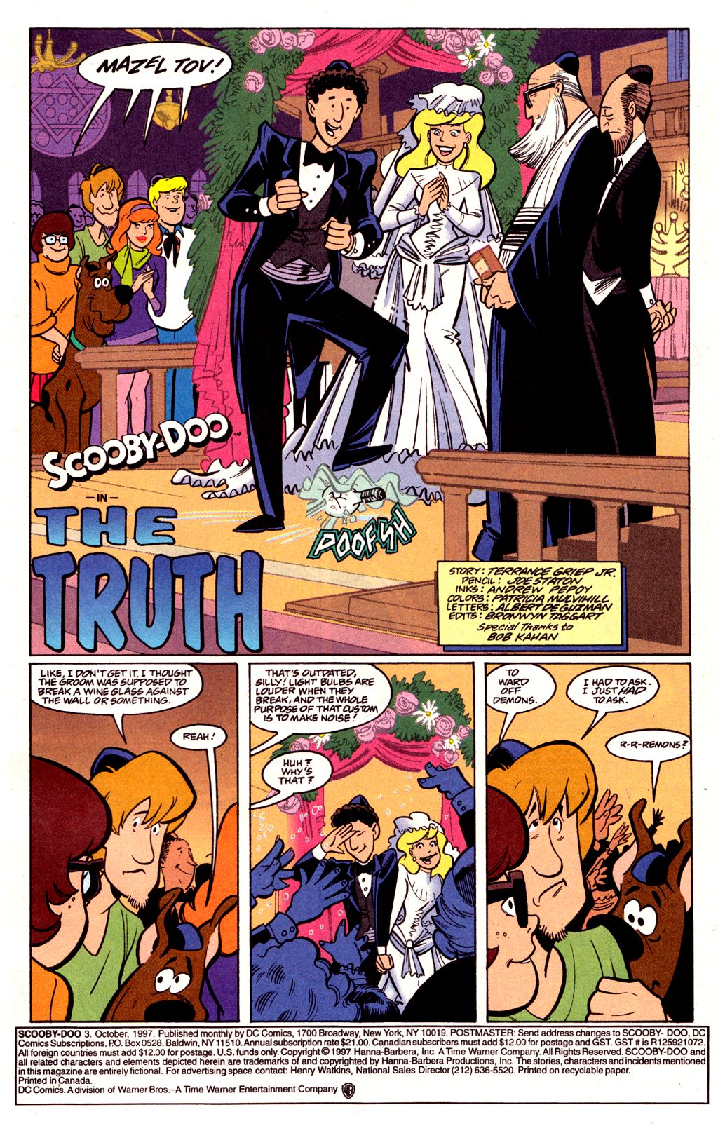 Read online Scooby-Doo (1997) comic -  Issue #3 - 2