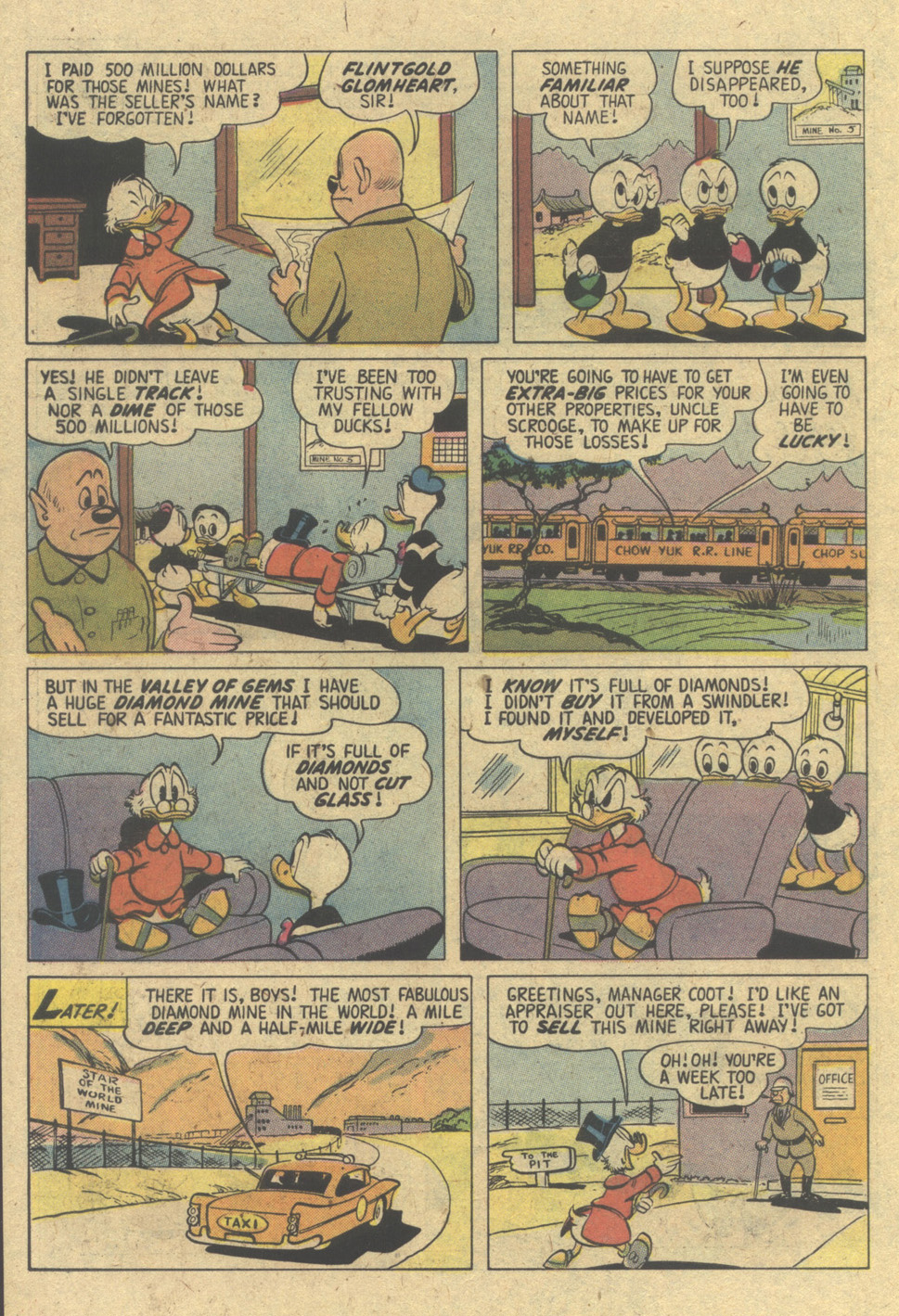 Uncle Scrooge (1953) Issue #150 #150 - English 10