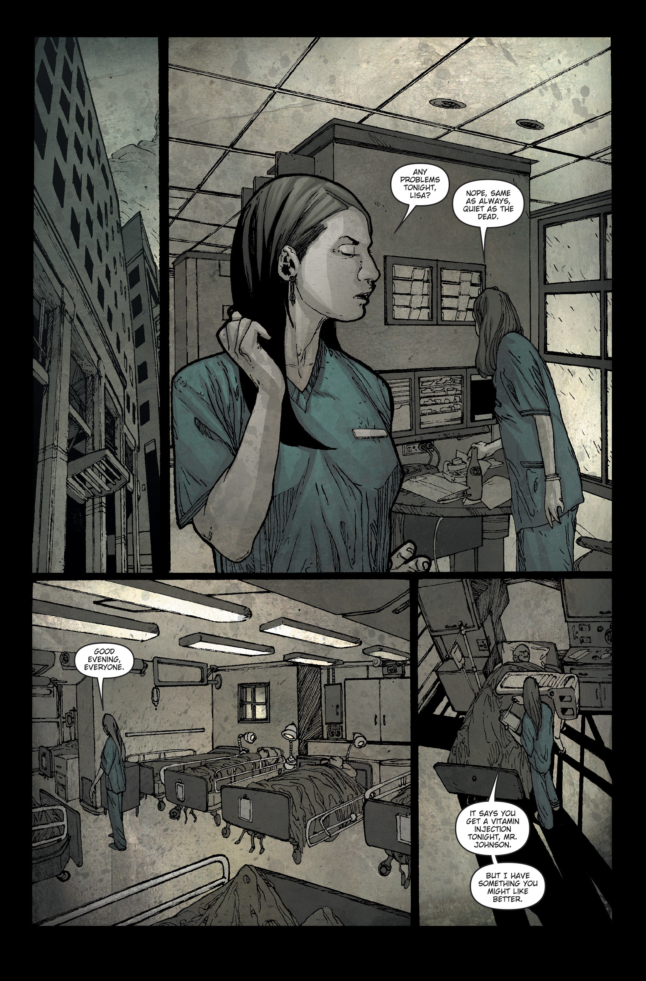 30 Days of Night: Spreading the Disease 1 Page 19