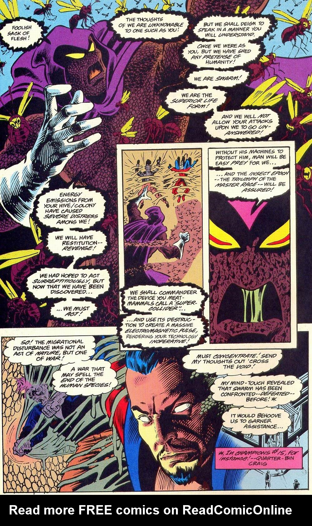 Read online Secret Defenders comic -  Issue #18 - 6