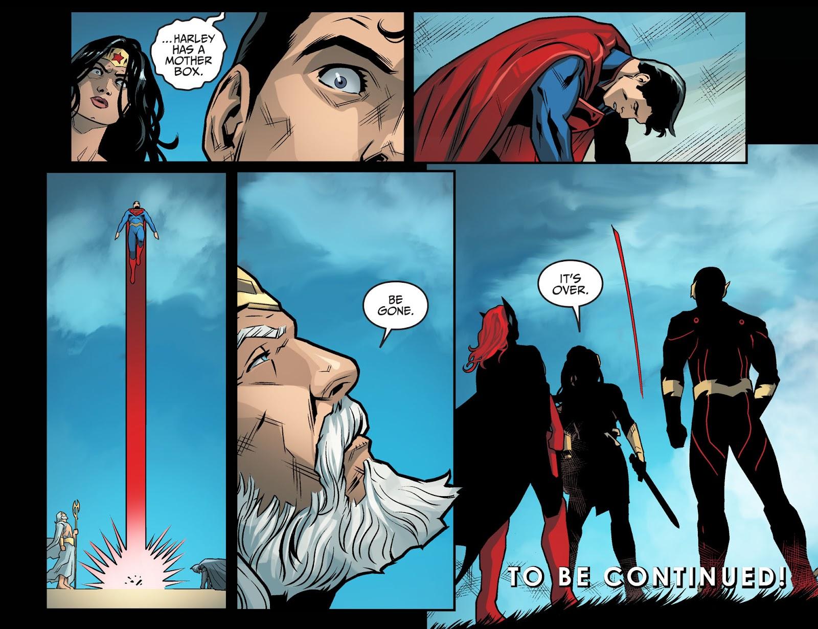 Injustice: Gods Among Us Year Four Issue #20 #21 - English 23