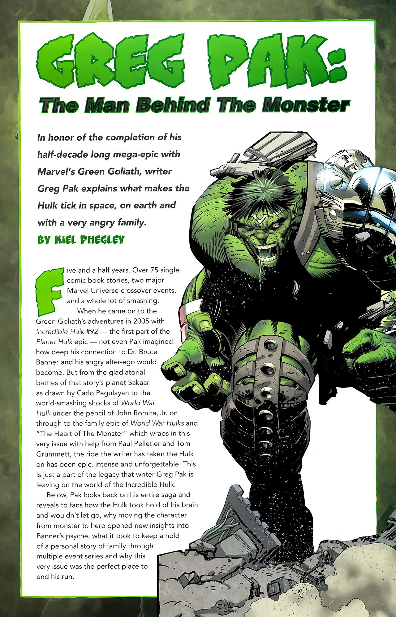 Incredible Hulks (2010) #635 #26 - English 37