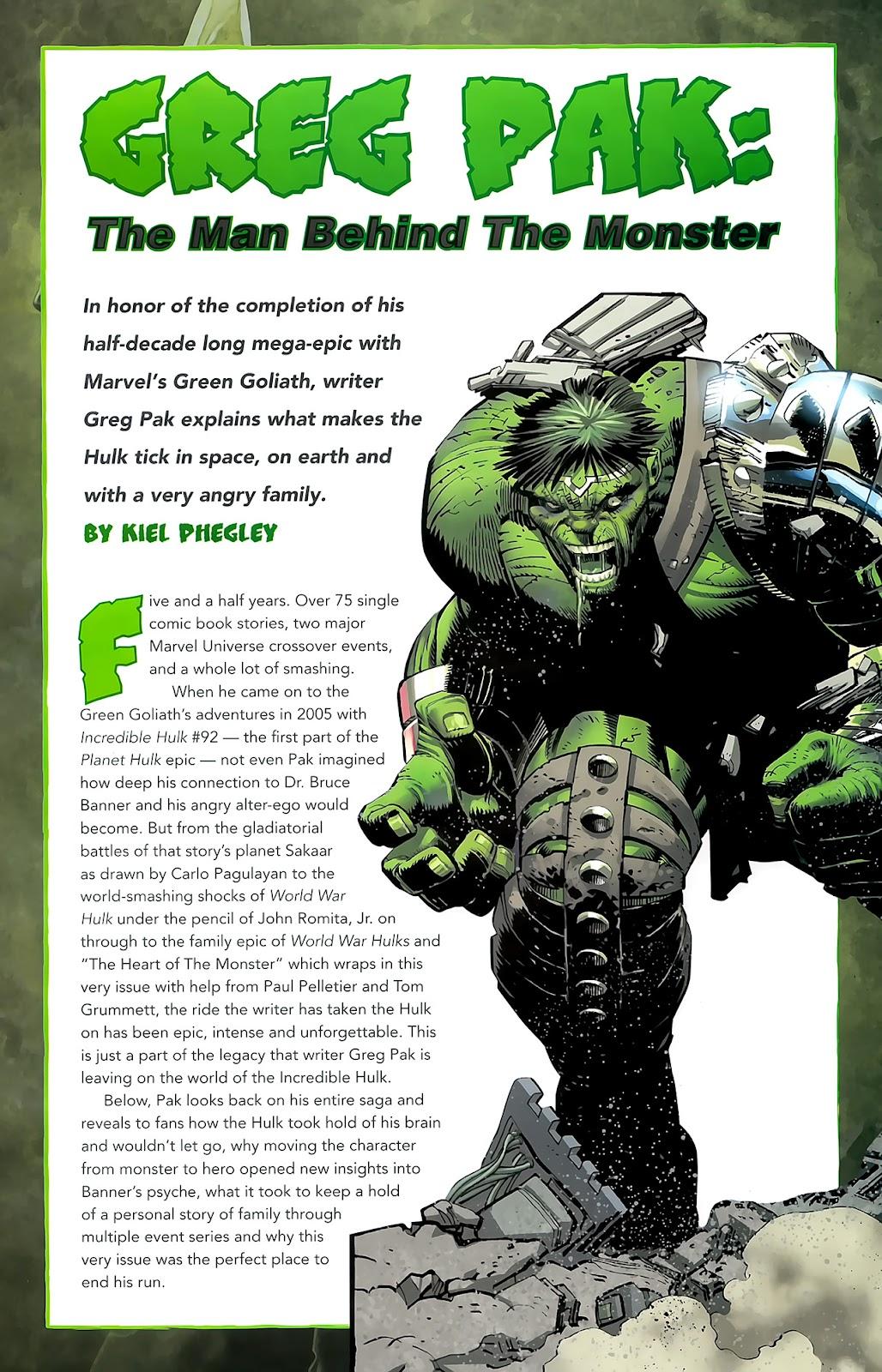 Incredible Hulks (2010) Issue #635 #25 - English 37