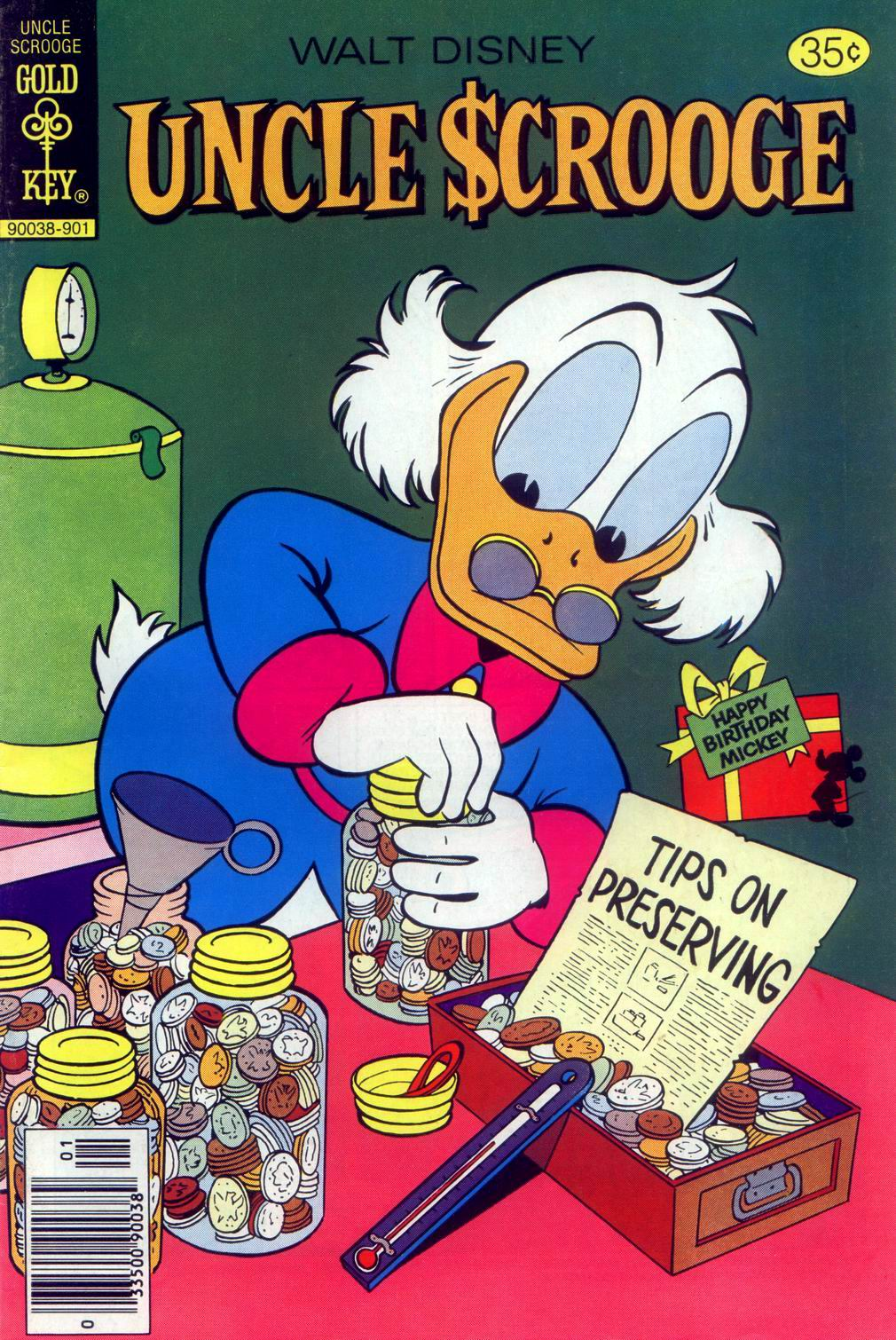 Uncle Scrooge (1953) Issue #160 #160 - English 1