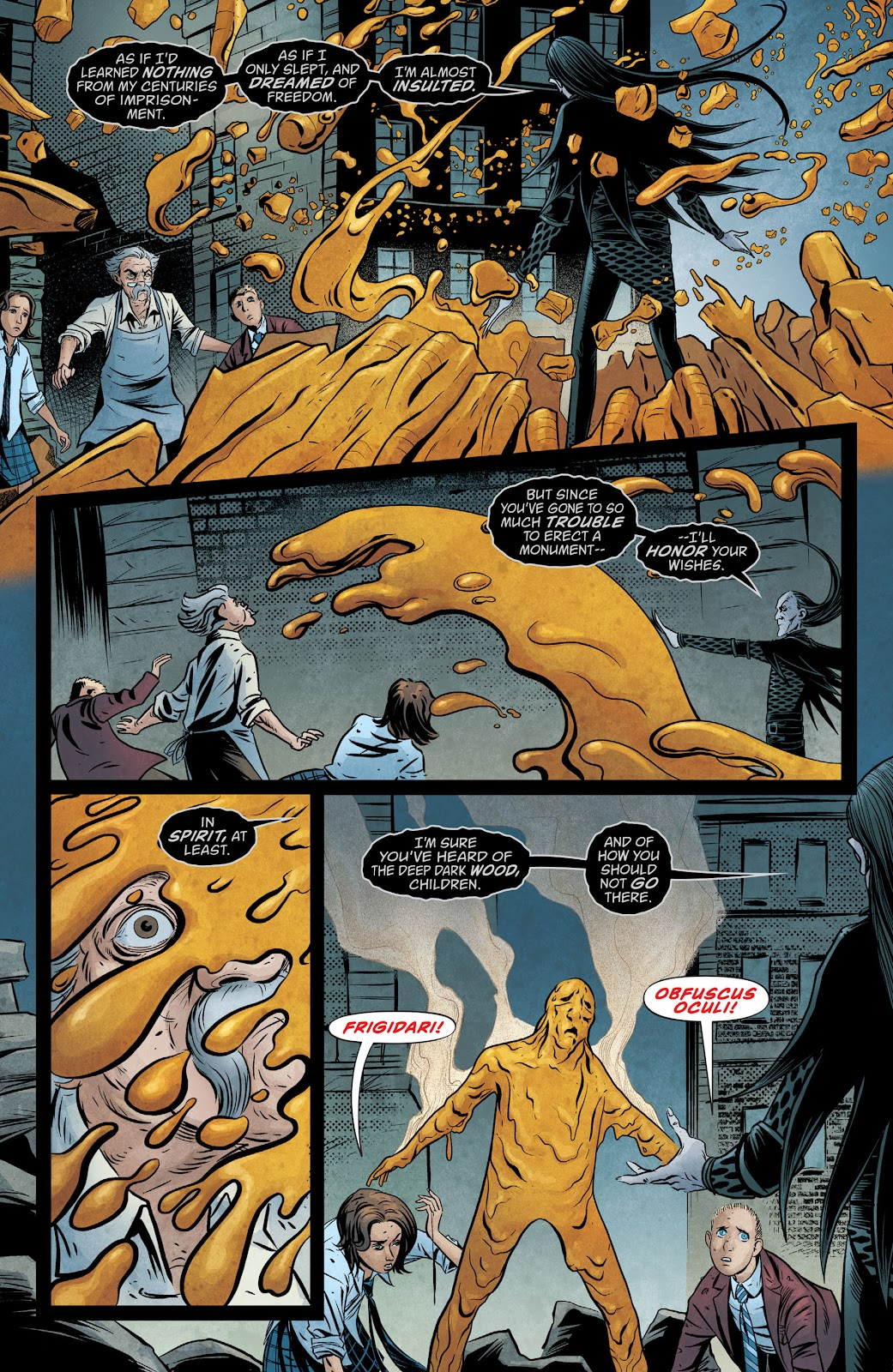 The Unwritten Issue #54 #60 - English 11