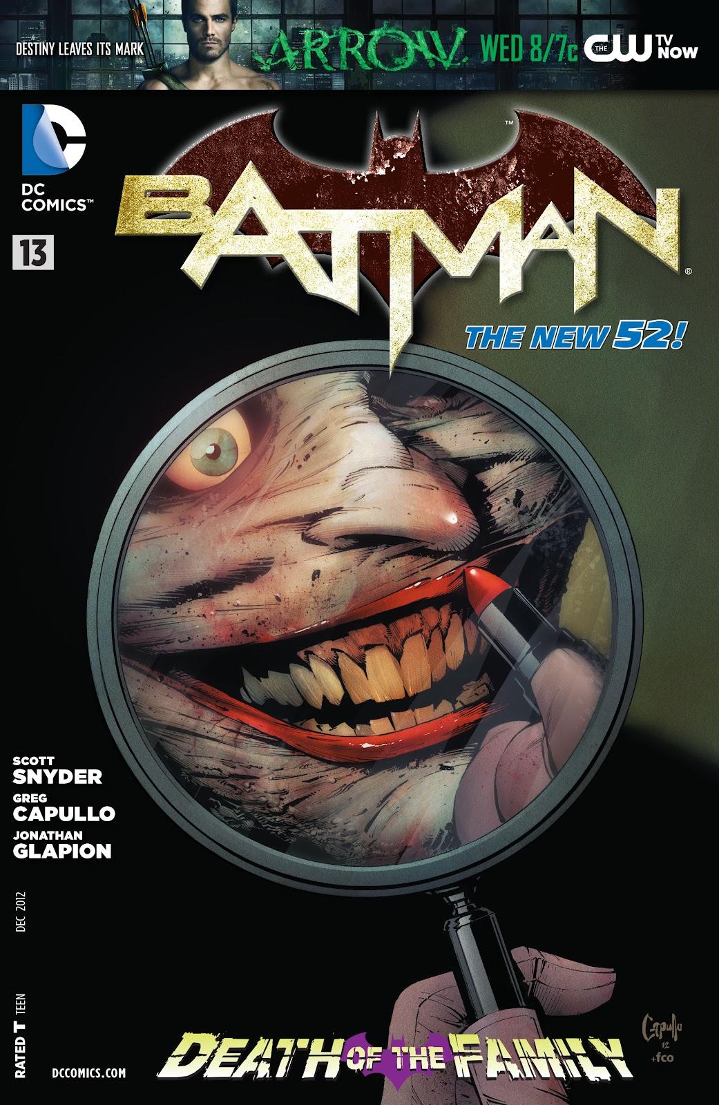 Batman (2011) Issue #13 #28 - English 33