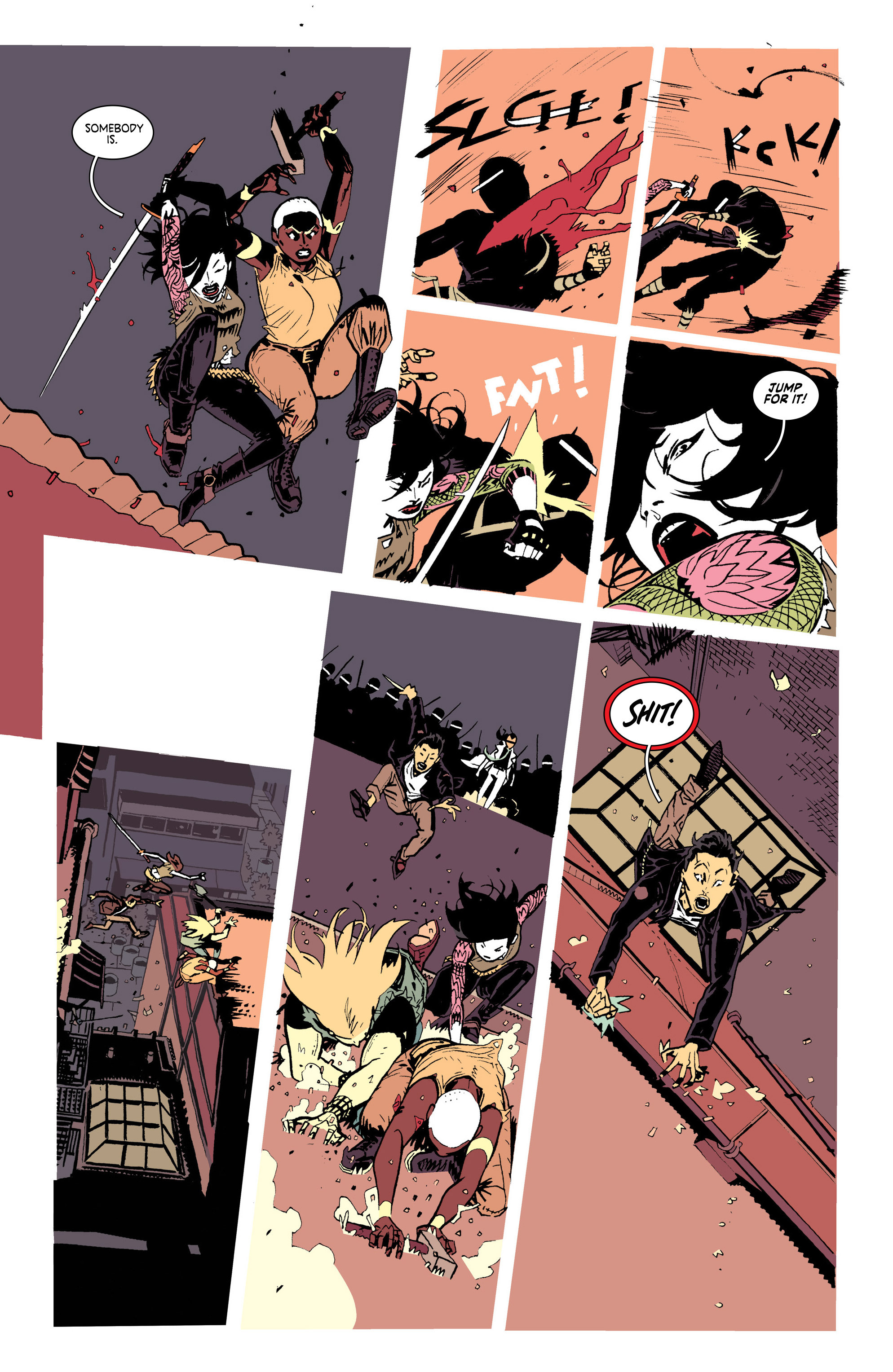 Read online Deadly Class comic -  Issue #25 - 18