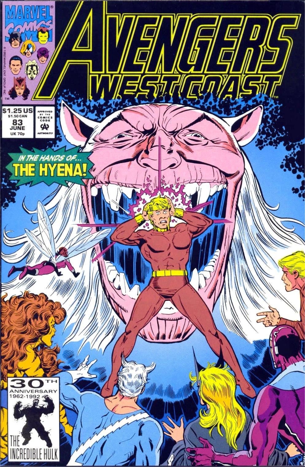 Avengers West Coast (1989) 83 Page 1