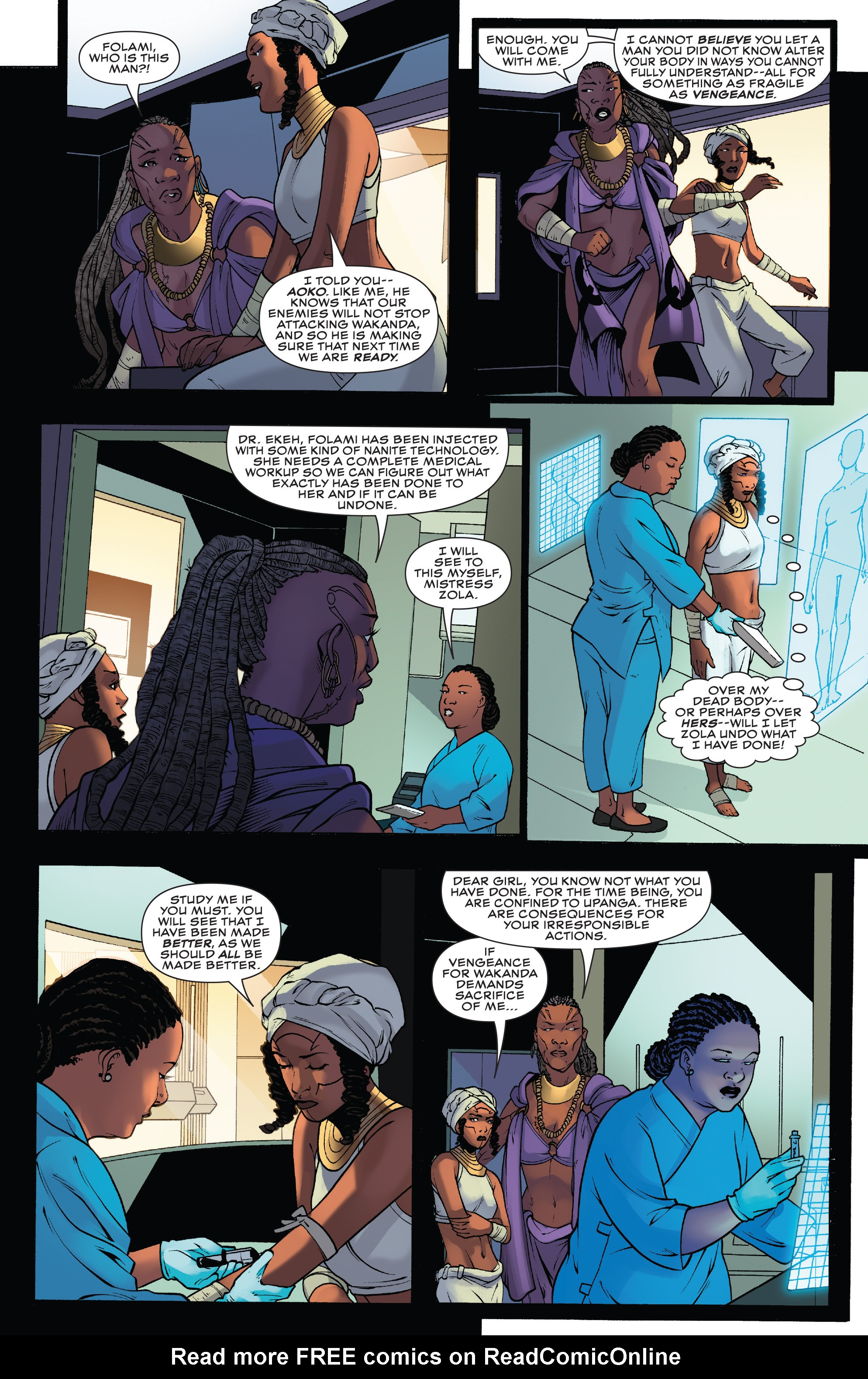 Read online Black Panther: World of Wakanda comic -  Issue #4 - 7