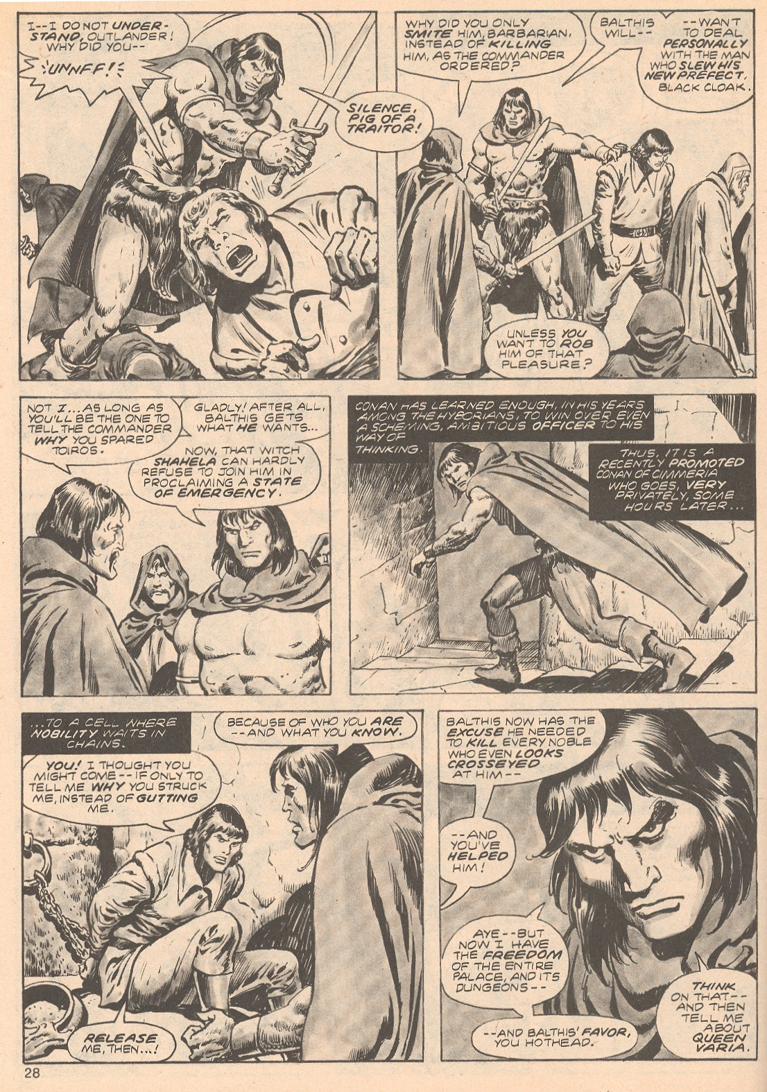 The Savage Sword Of Conan Issue #68 #69 - English 28