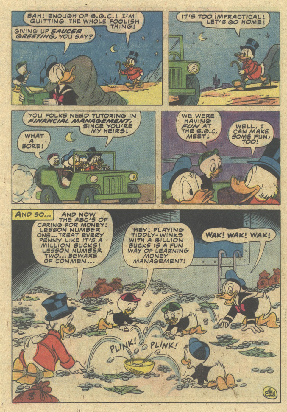 Uncle Scrooge (1953) Issue #188 #188 - English 17