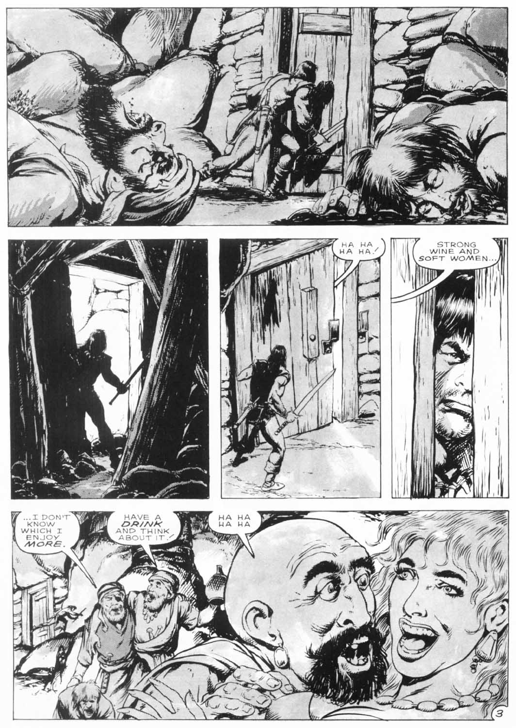 The Savage Sword Of Conan Issue #154 #155 - English 7