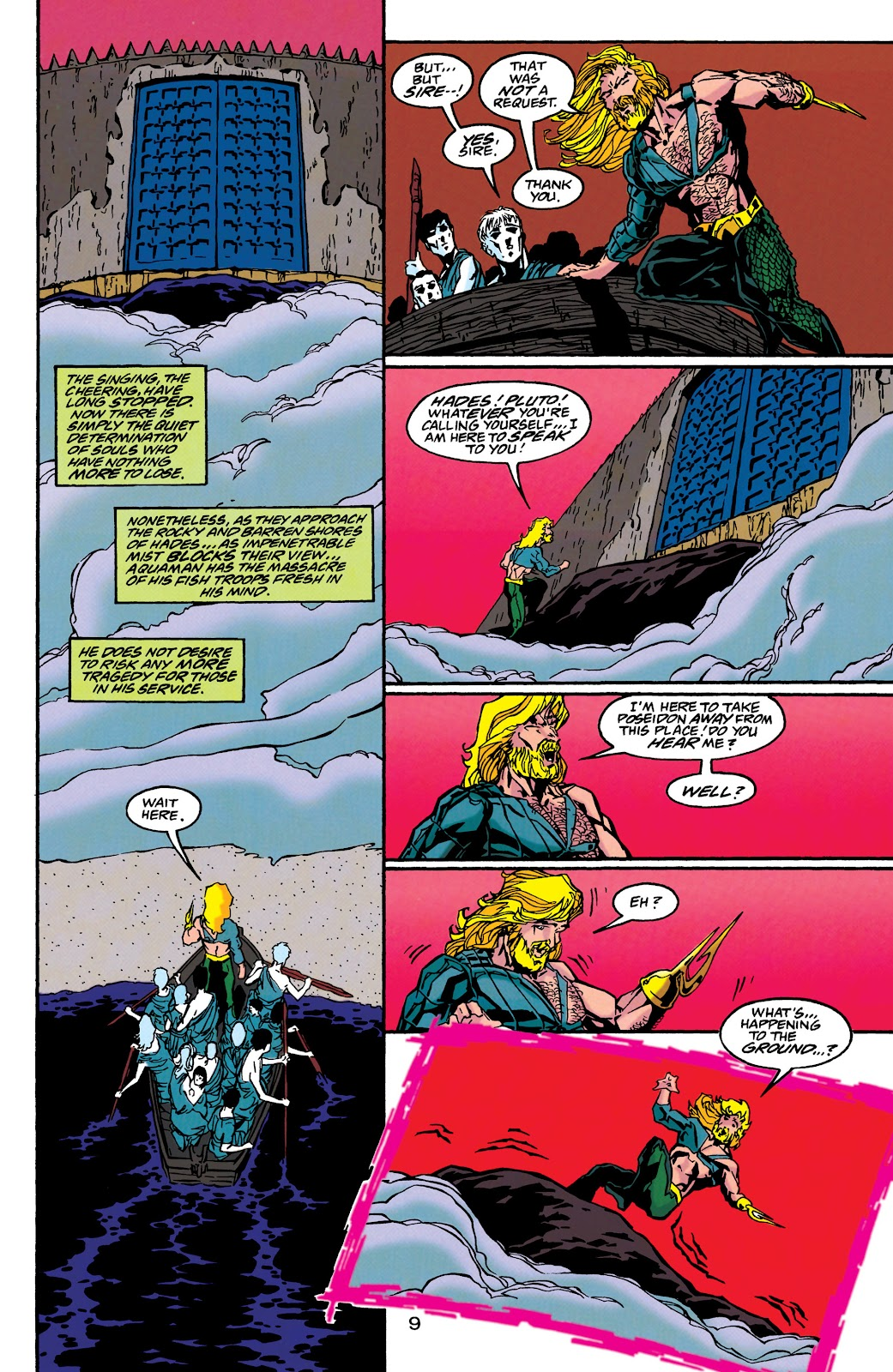 Aquaman (1994) Issue #46 #52 - English 9
