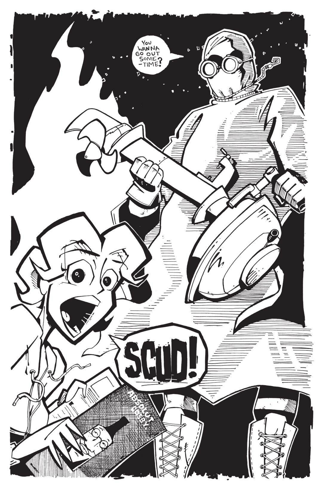 Read online Scud: The Disposable Assassin: The Whole Shebang comic -  Issue # TPB (Part 3) - 122