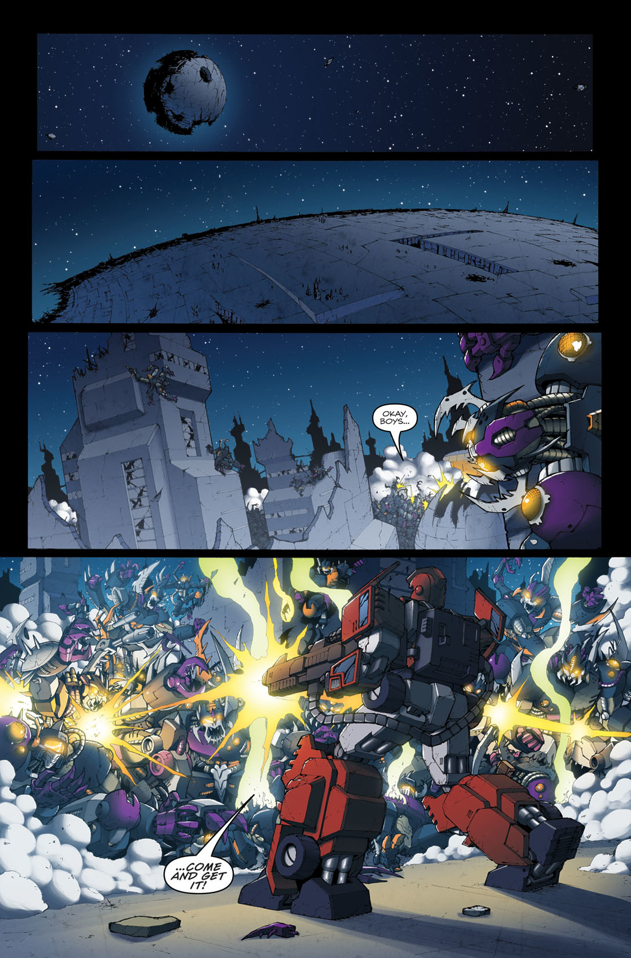 Read online The Transformers: Ironhide comic -  Issue #4 - 5