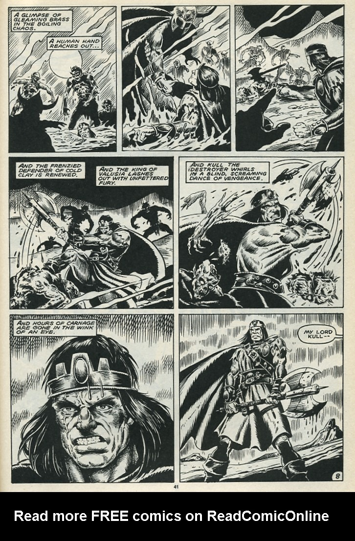 The Savage Sword Of Conan Issue #172 #173 - English 43