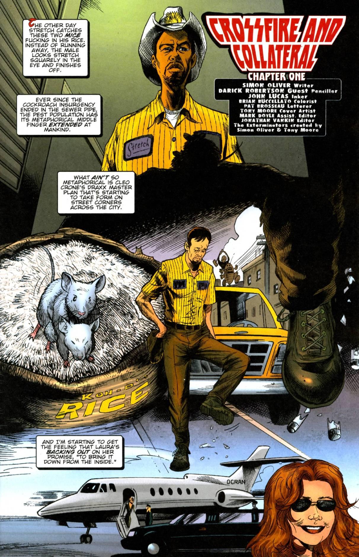 The Exterminators 19 Page 1
