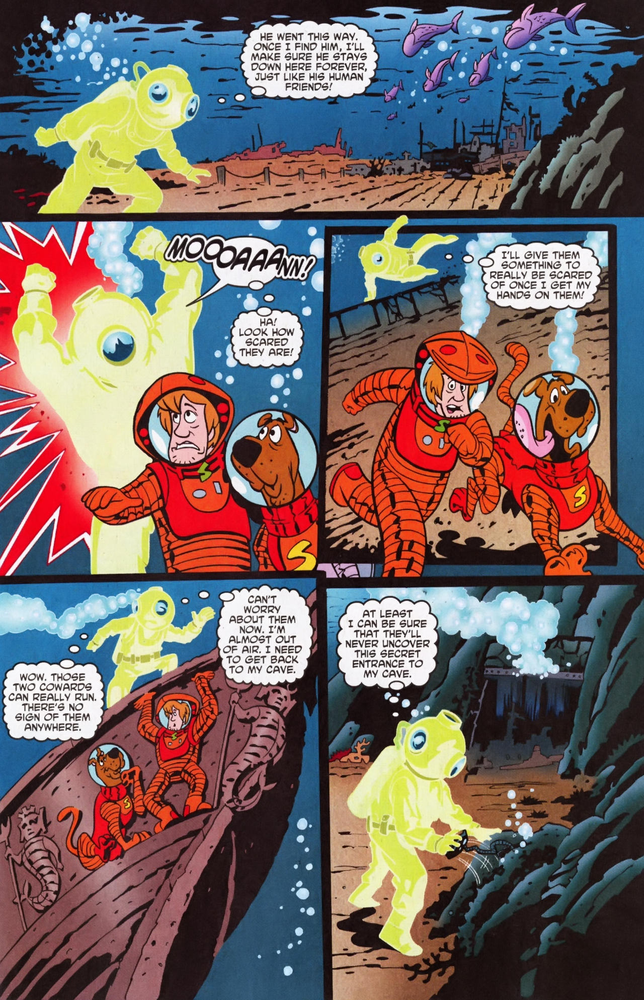 Read online Scooby-Doo (1997) comic -  Issue #135 - 12