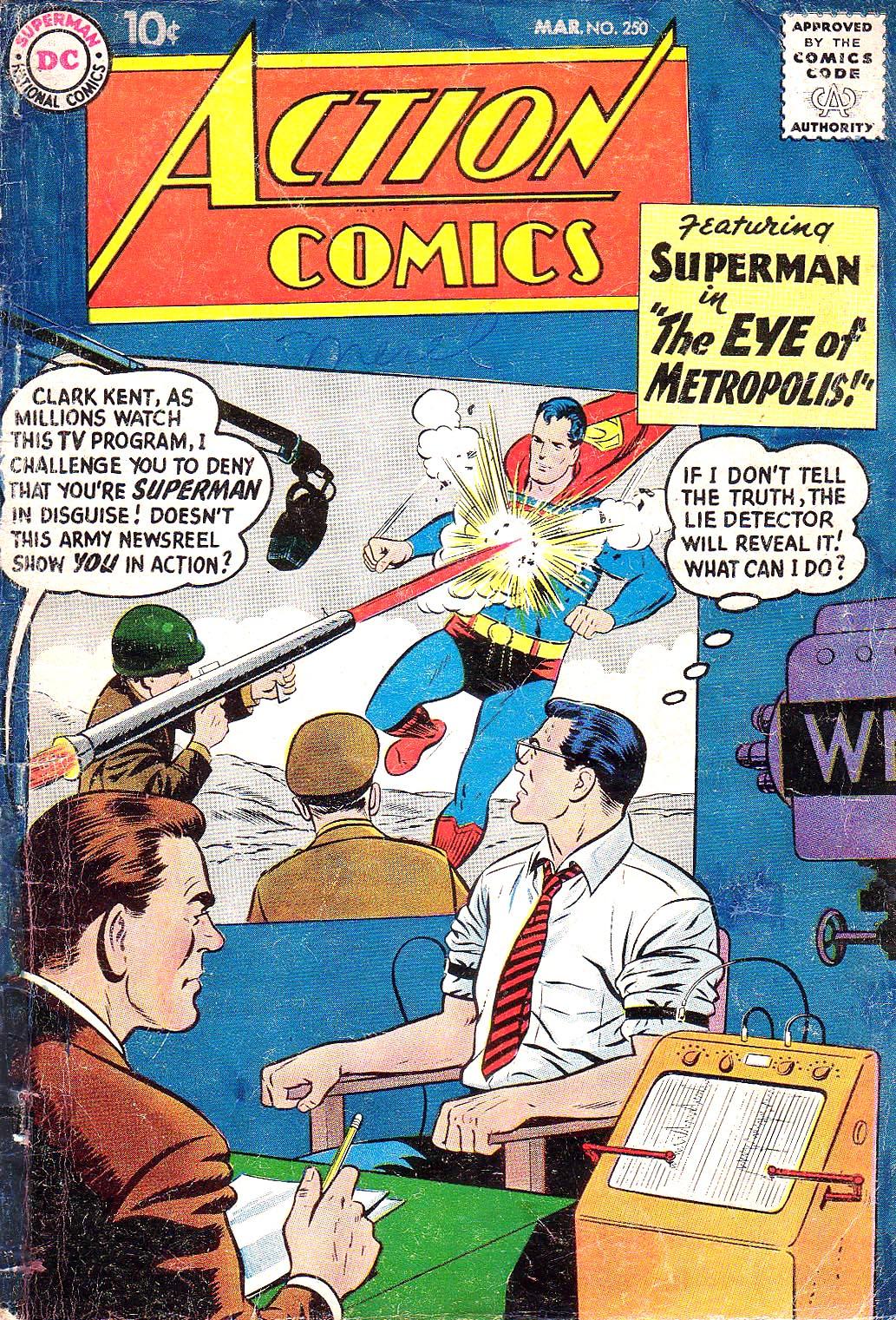 Action Comics (1938) 250 Page 1