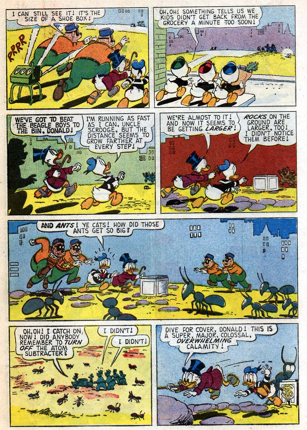 Uncle Scrooge (1953) Issue #33 #33 - English 10