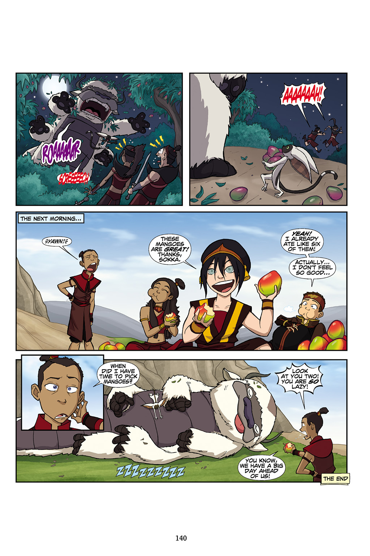 Nickelodeon Avatar: The Last Airbender - The Lost Adventures chap full pic 141
