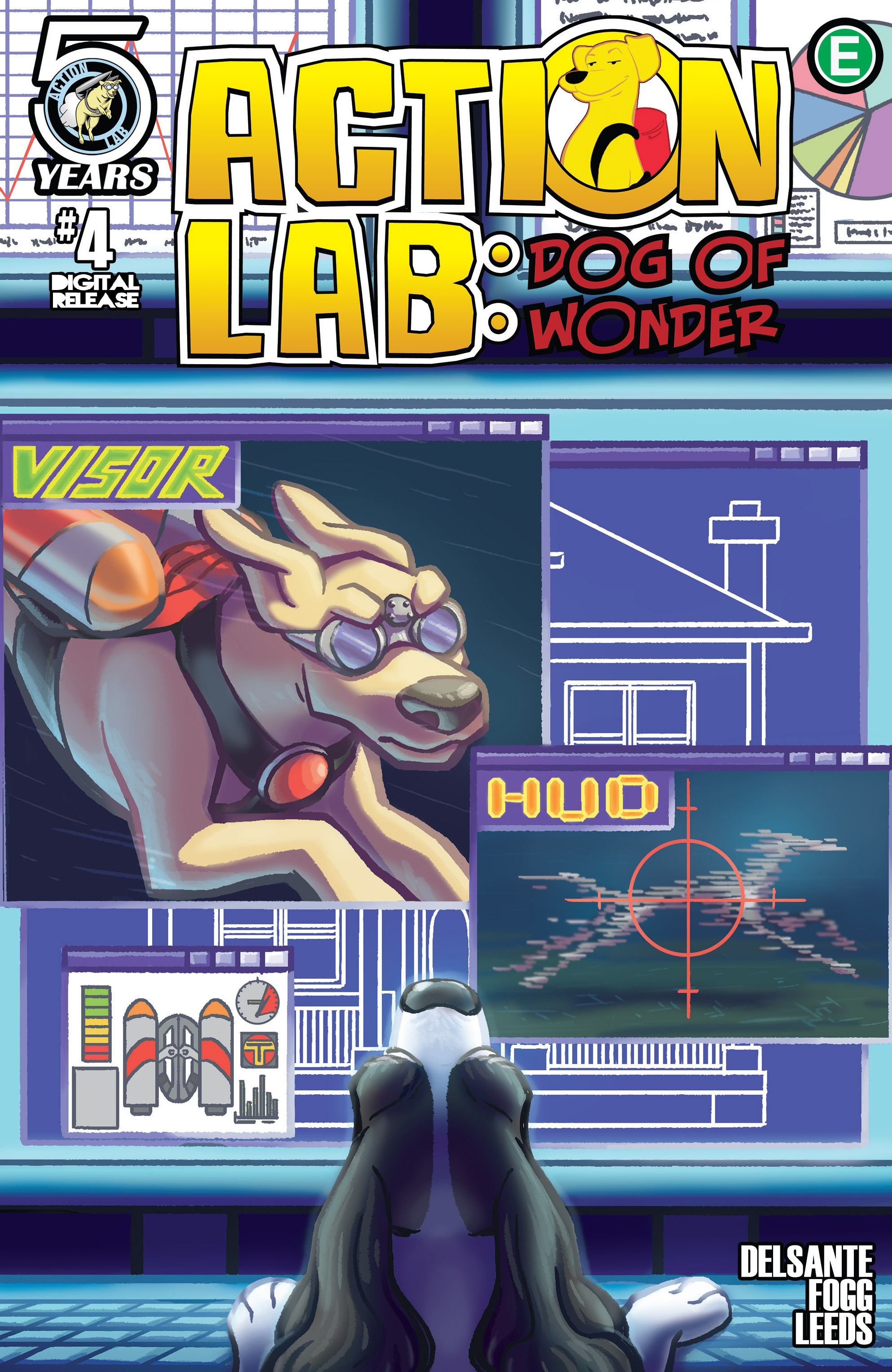 Read online Action Lab, Dog of Wonder comic -  Issue #4 - 1
