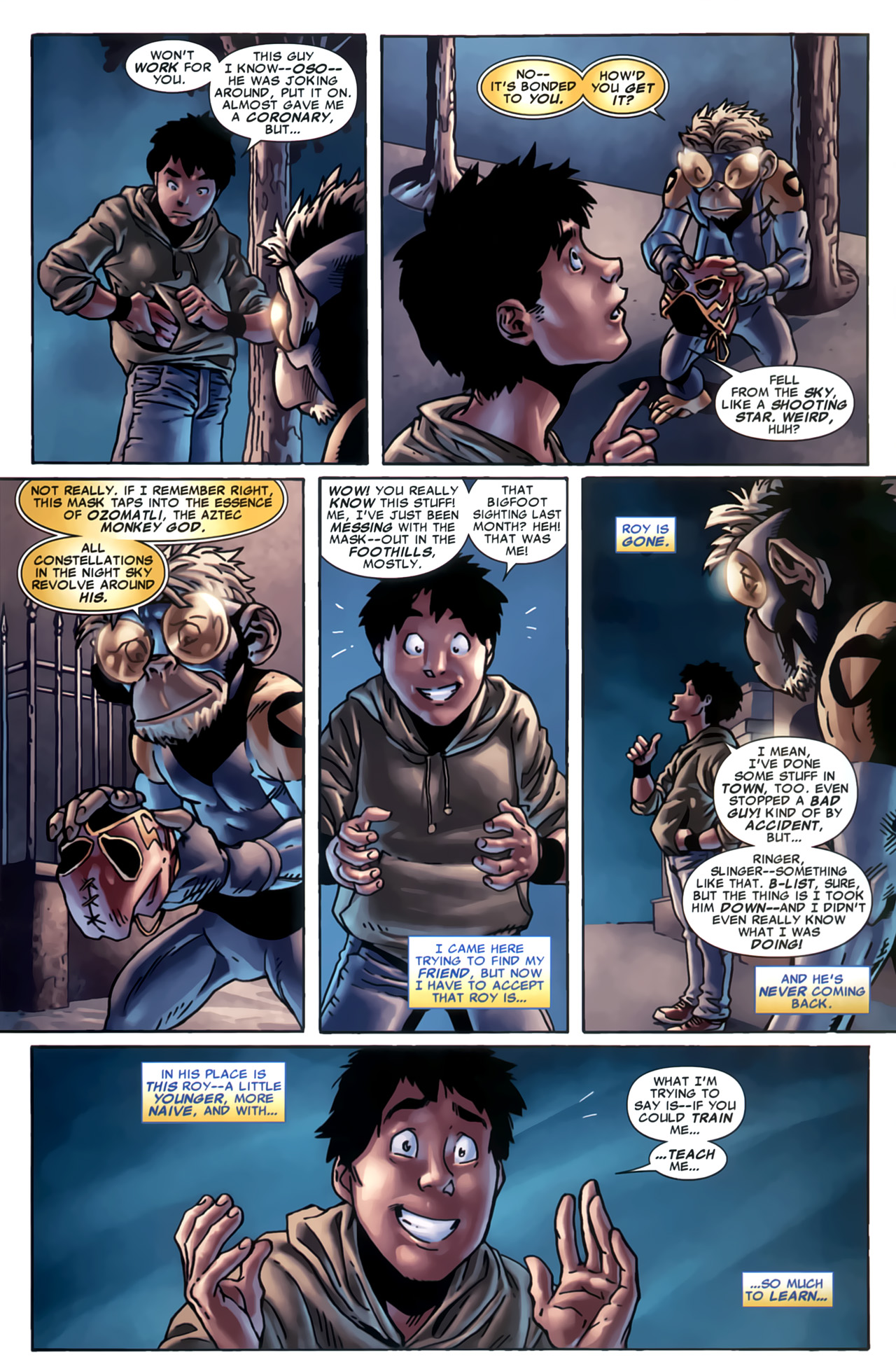 Read online Marvel Apes: Speedball Special comic -  Issue # Full - 28