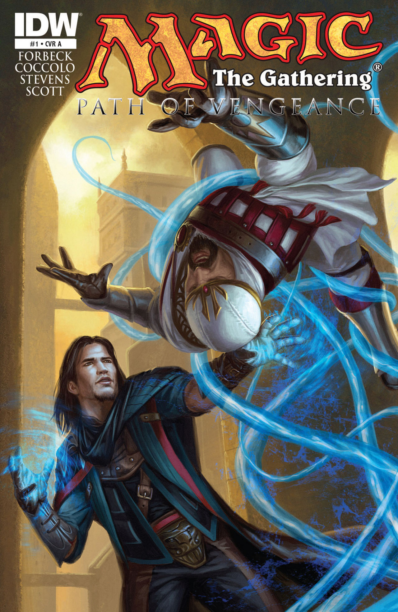 Read online Magic: The Gathering--Path of Vengeance comic -  Issue #1 - 1