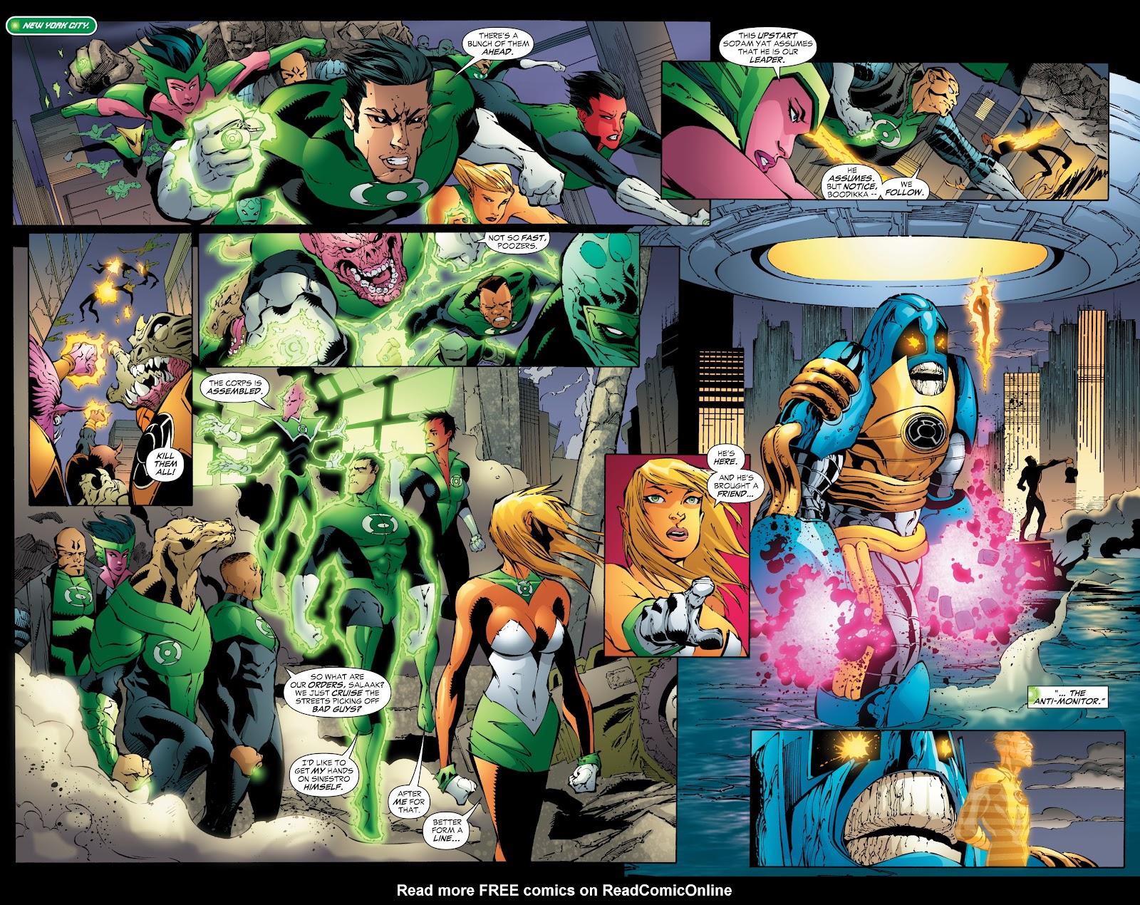 Green Lantern: The Sinestro Corps War Full #1 - English 214