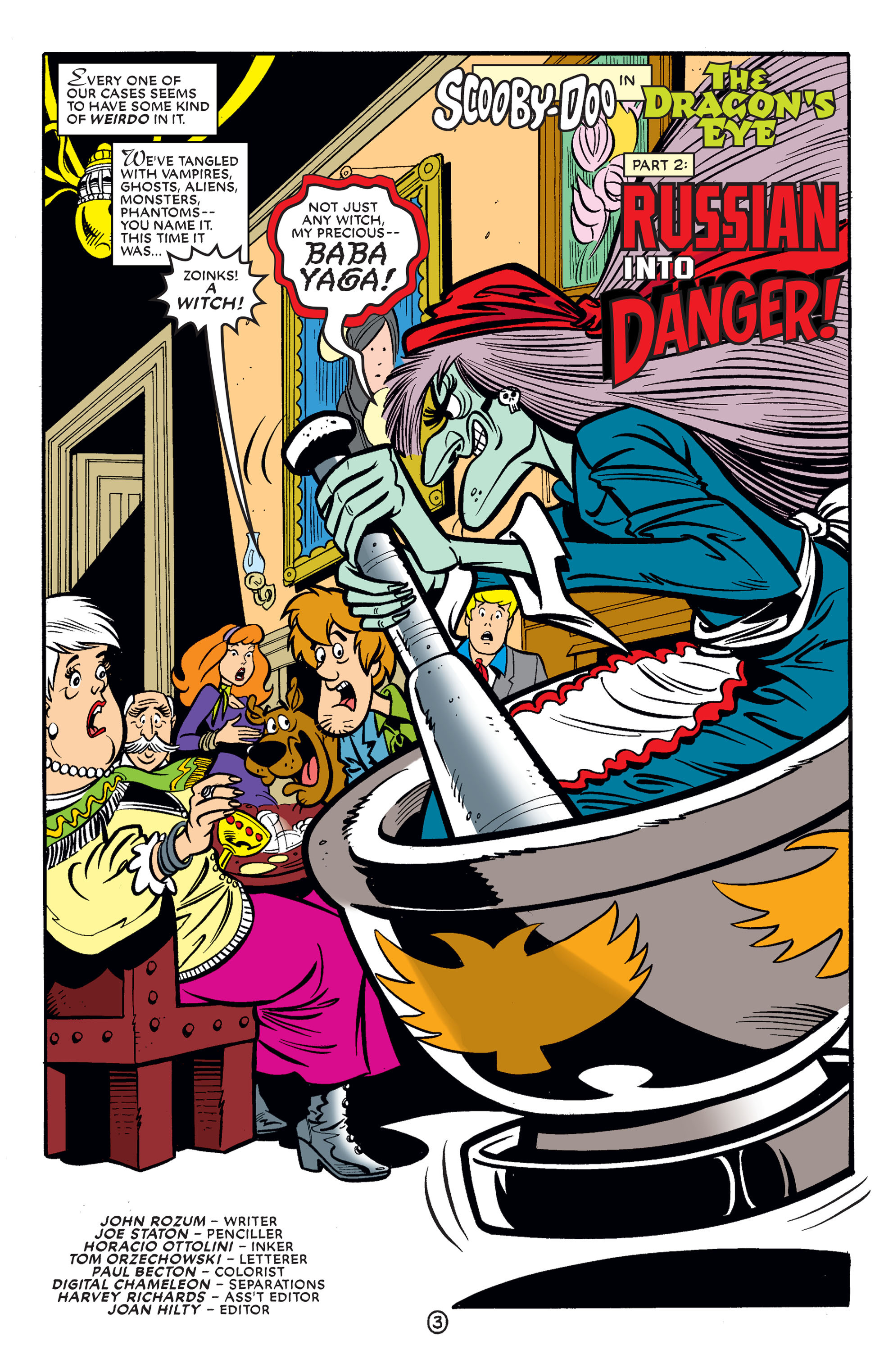Read online Scooby-Doo (1997) comic -  Issue #60 - 15