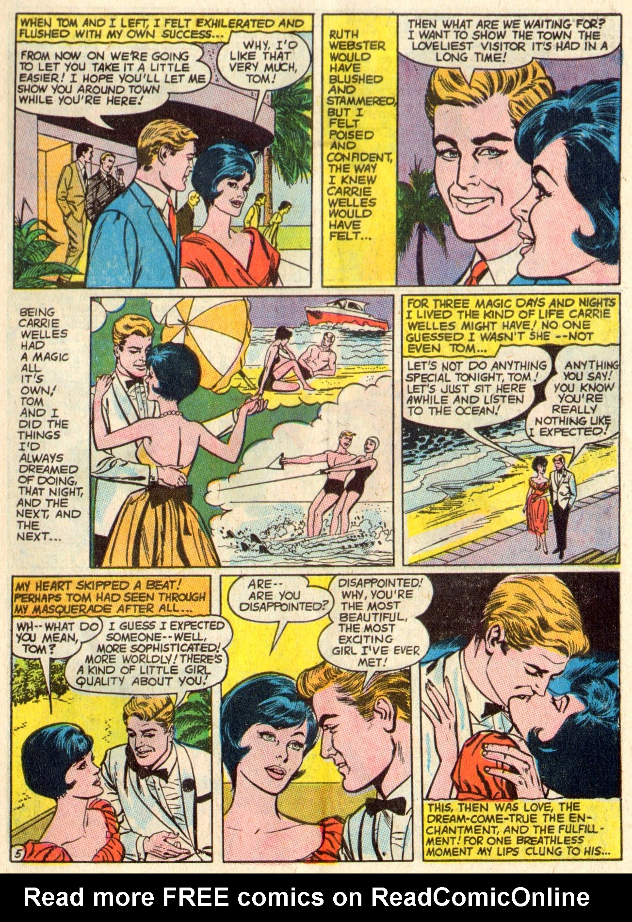 Read online Secret Hearts comic -  Issue #117 - 7