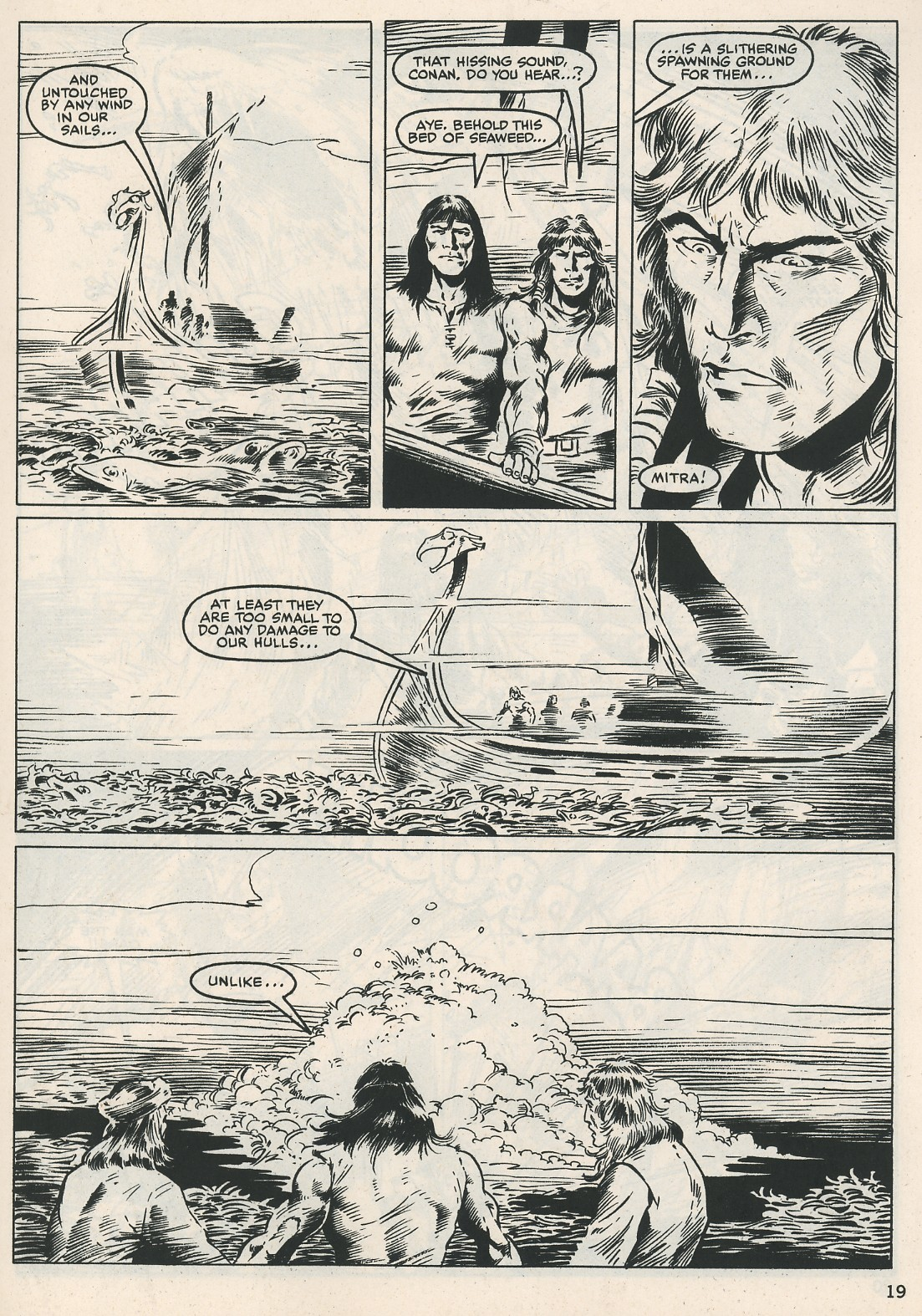 The Savage Sword Of Conan Issue #115 #116 - English 19