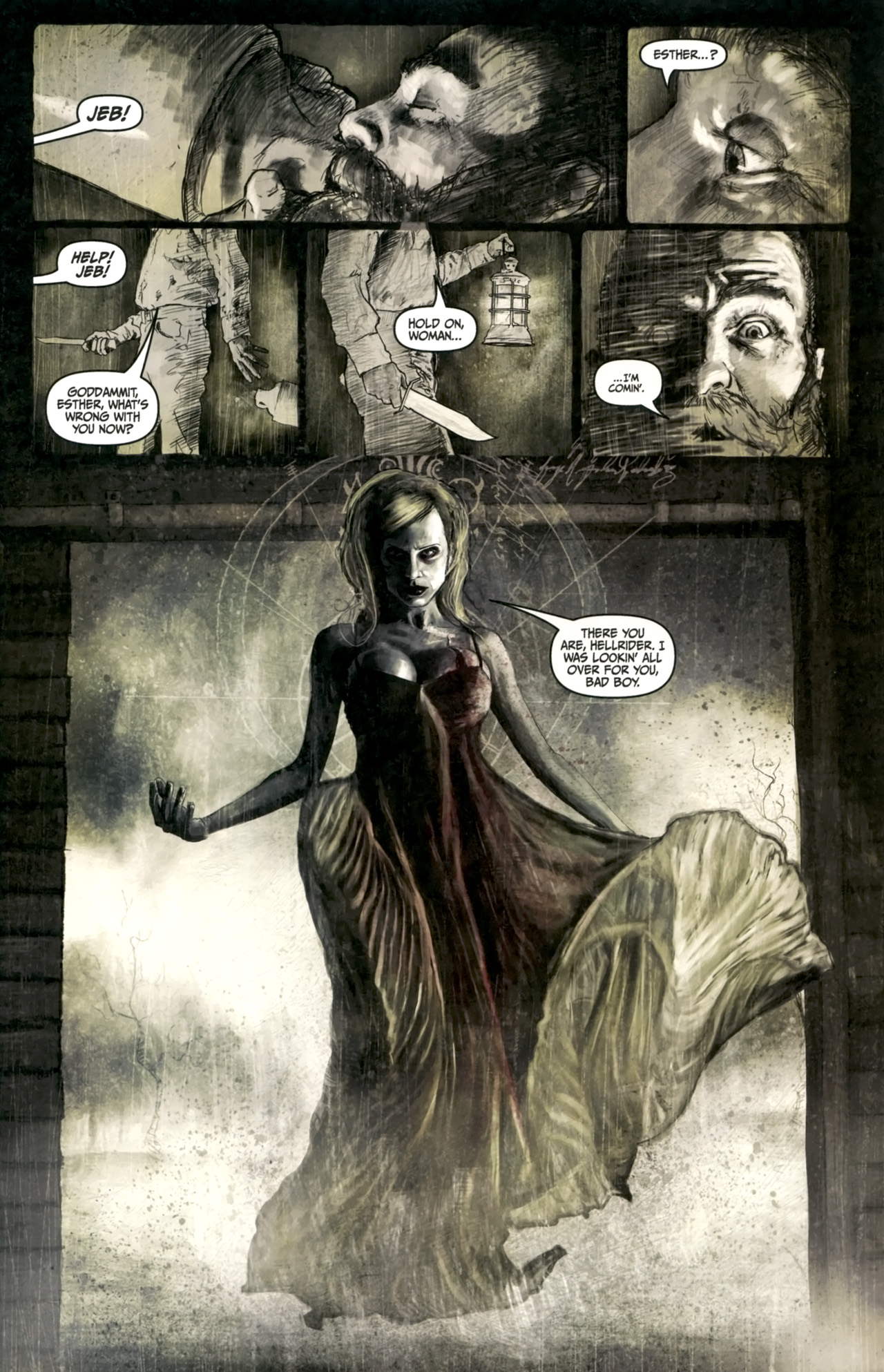 Read online Silent Hill: Past Life comic -  Issue #4 - 5