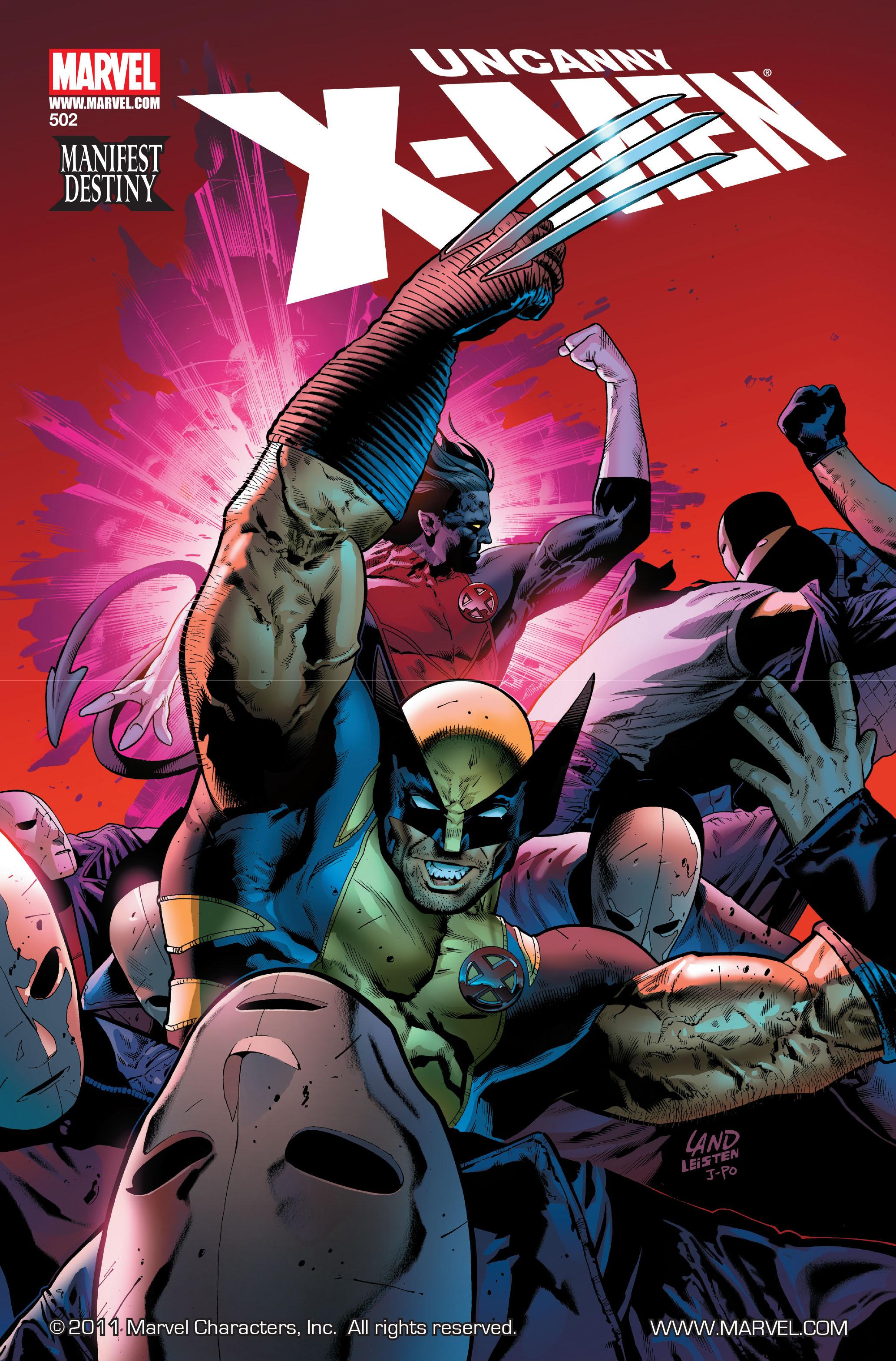 Uncanny X-Men (1963) 502 Page 1