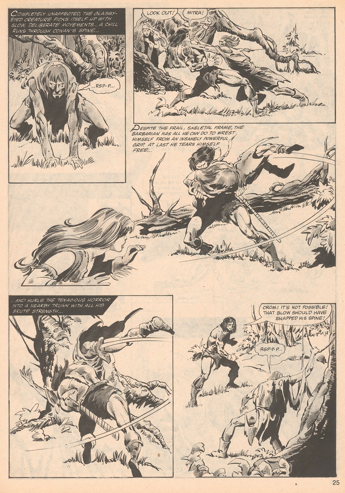 The Savage Sword Of Conan Issue #70 #71 - English 25