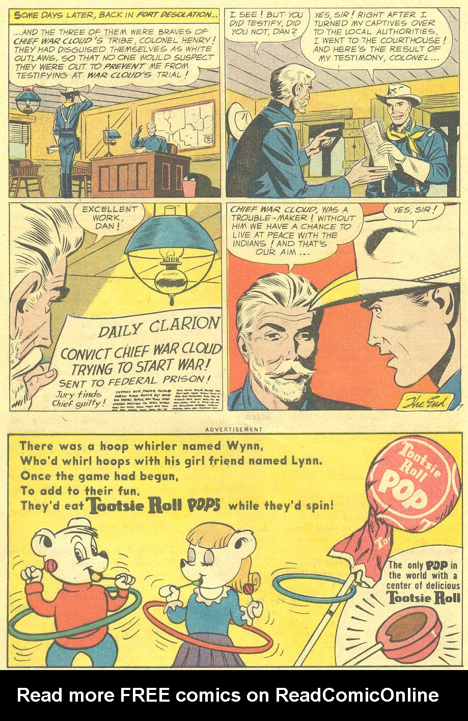 Read online All-Star Western (1951) comic -  Issue #105 - 22