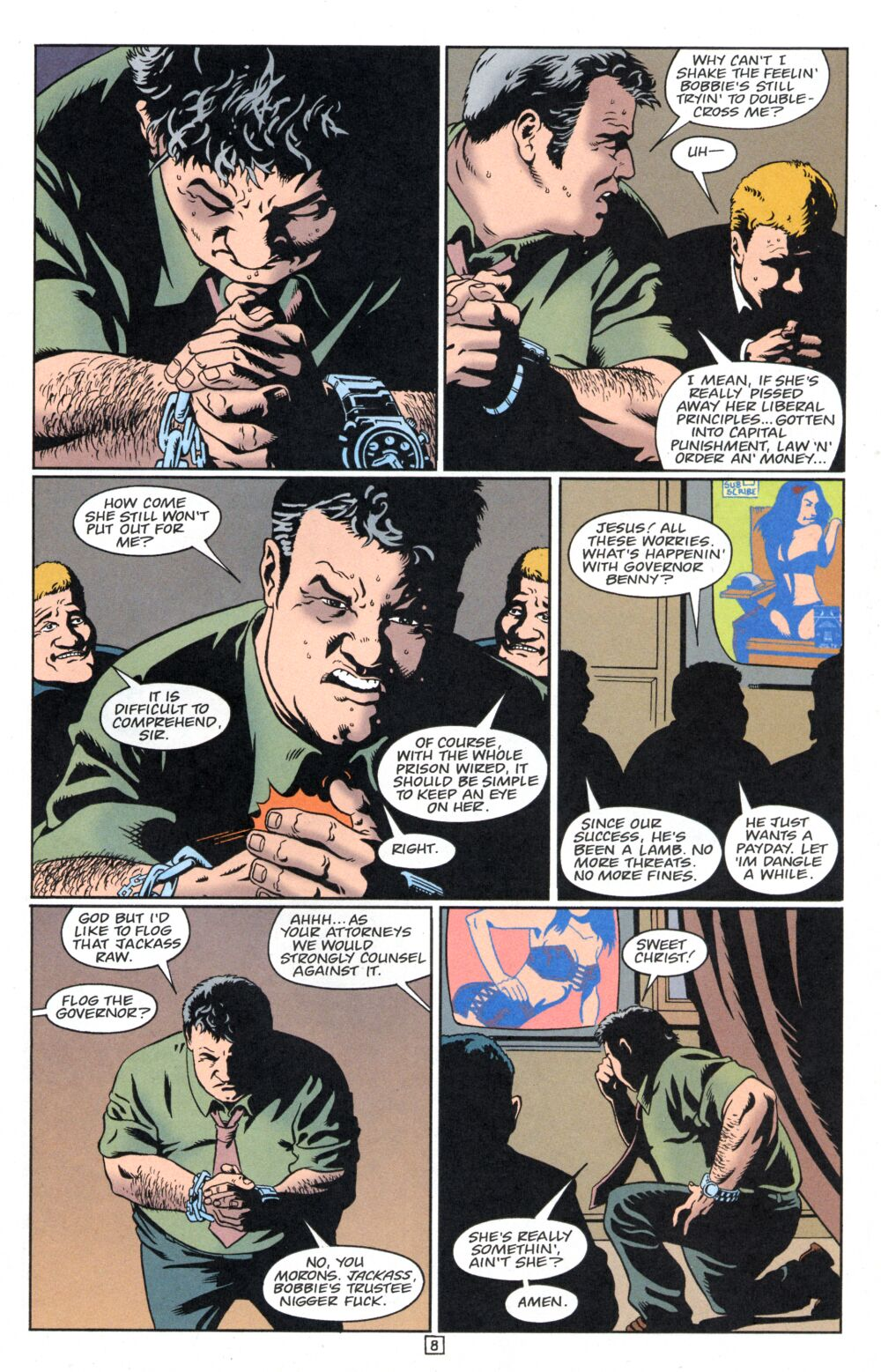 Cruel and Unusual 3 Page 9