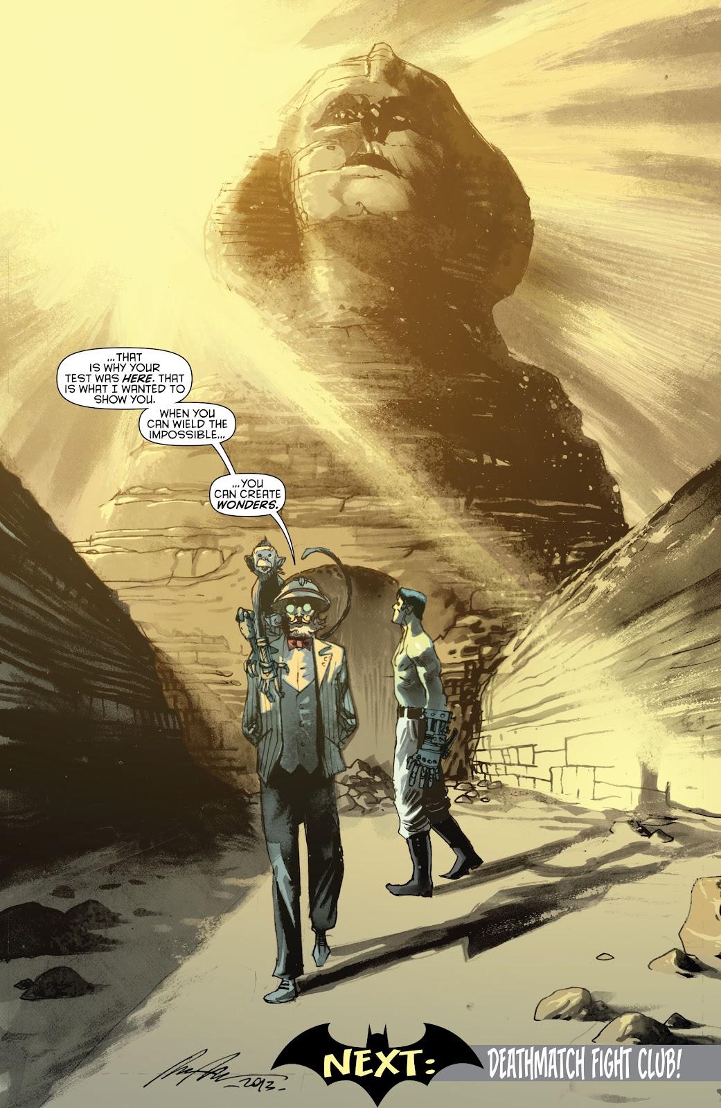Batman (2011) Issue #22 #37 - English 29