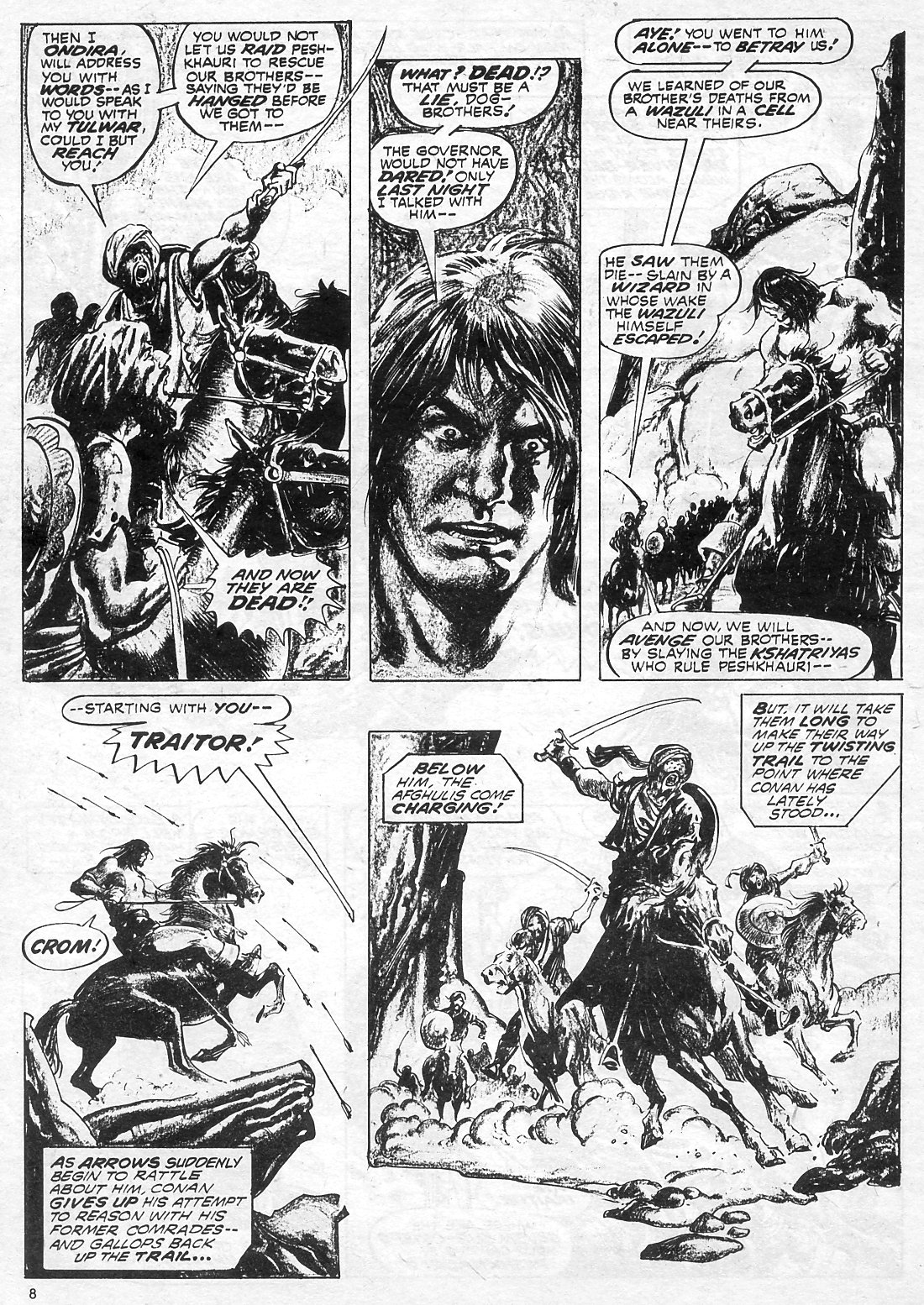 The Savage Sword Of Conan Issue #18 #19 - English 8