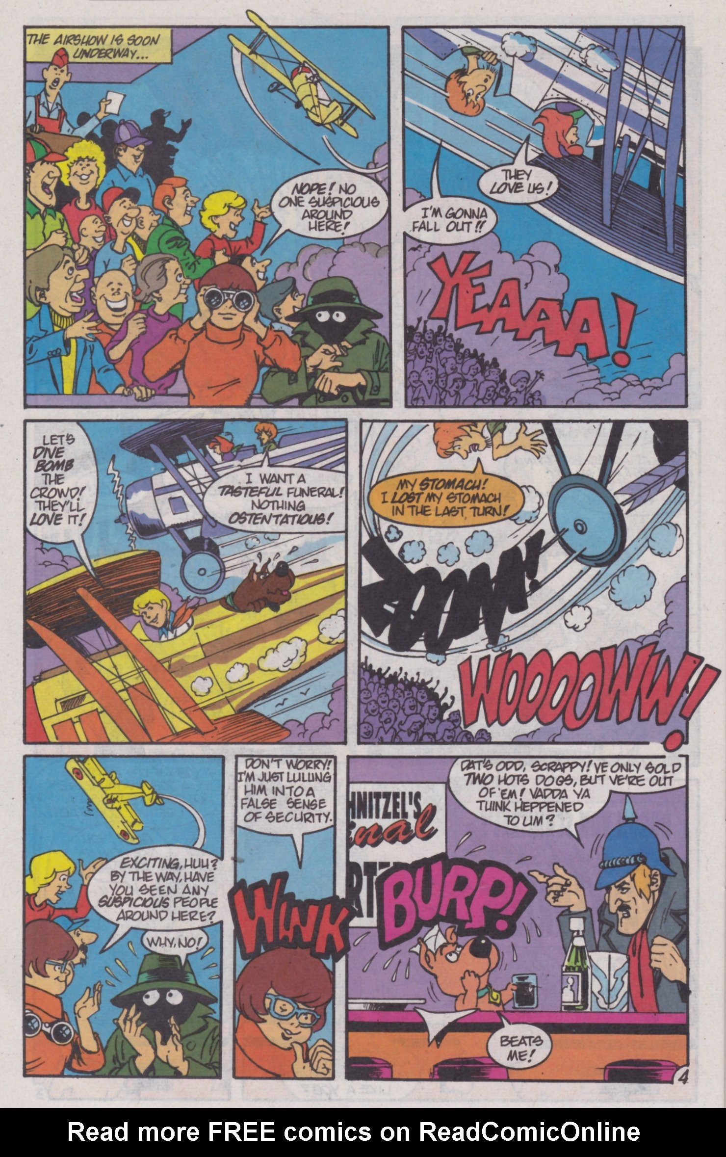 Read online Scooby-Doo (1995) comic -  Issue #4 - 18