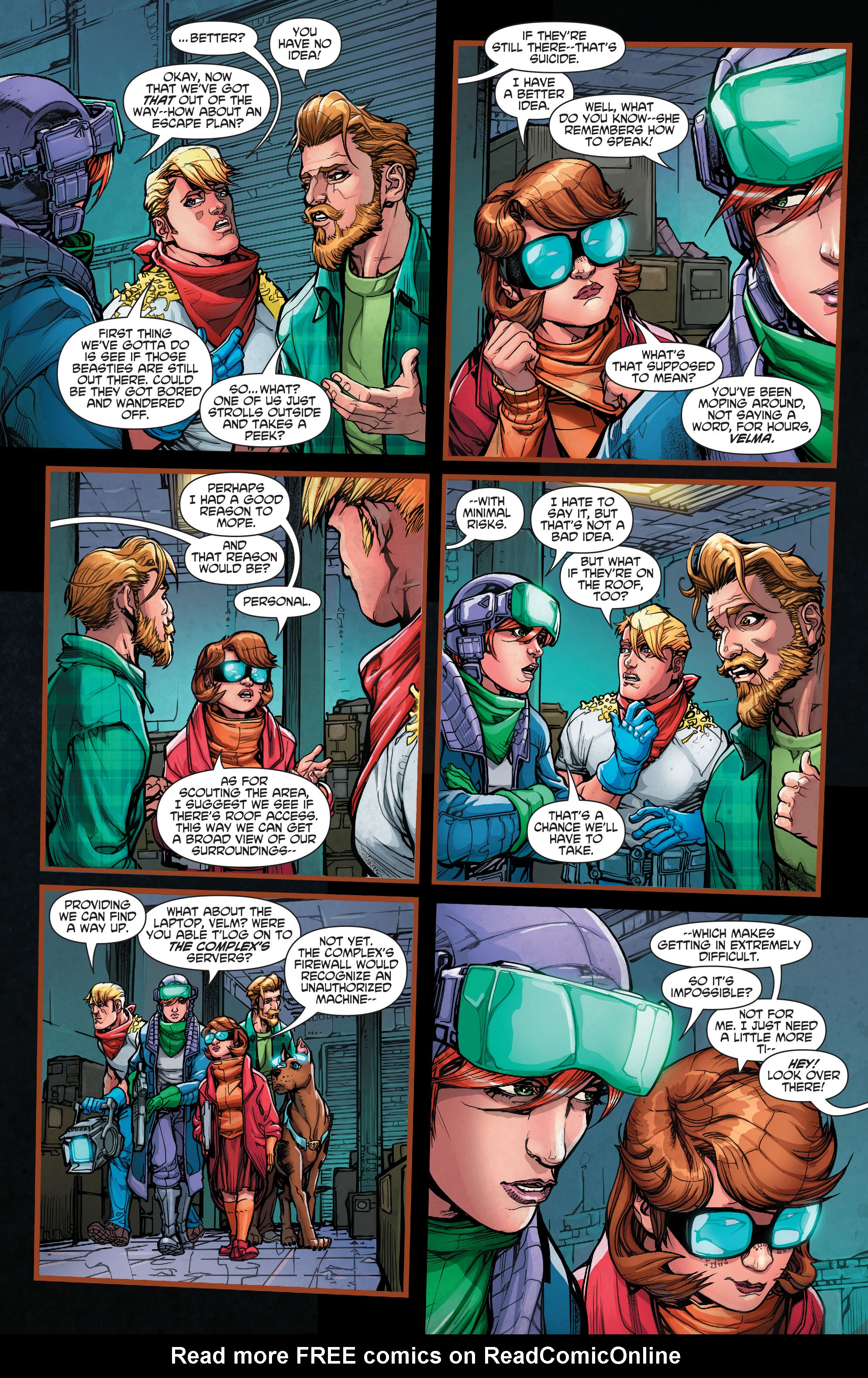 Read online Scooby Apocalypse comic -  Issue #7 - 6