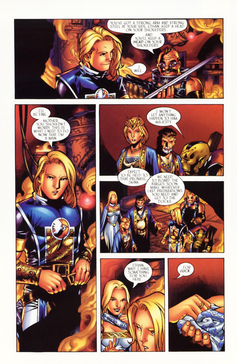 Read online Scion comic -  Issue #1 - 15