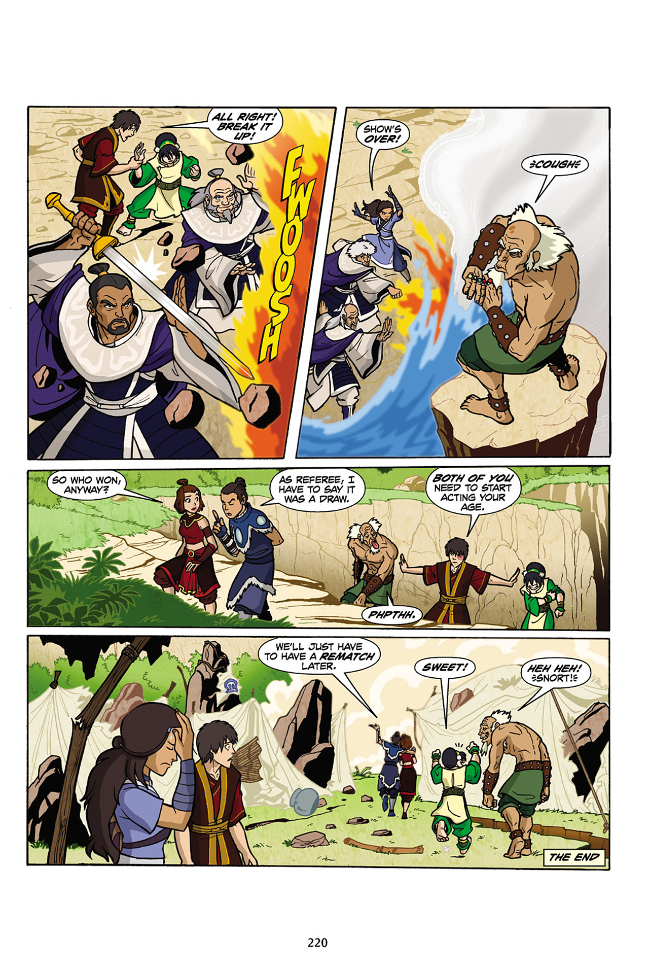 Nickelodeon Avatar: The Last Airbender - The Lost Adventures chap full pic 221