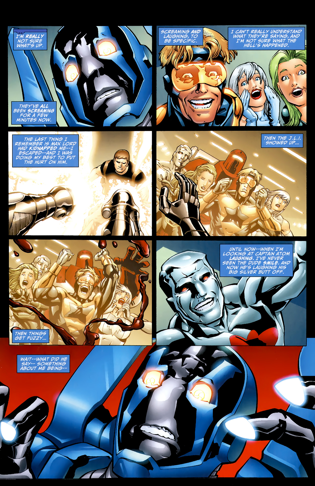Read online Justice League: Generation Lost comic -  Issue #22 - 3