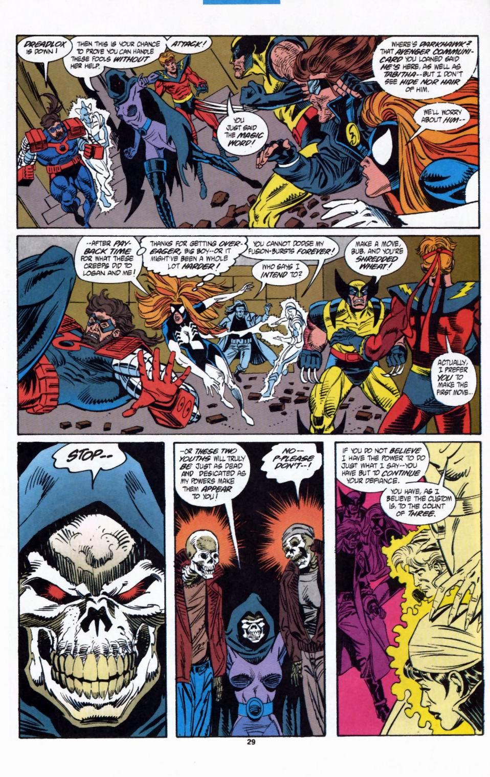 Read online Secret Defenders comic -  Issue #2 - 22
