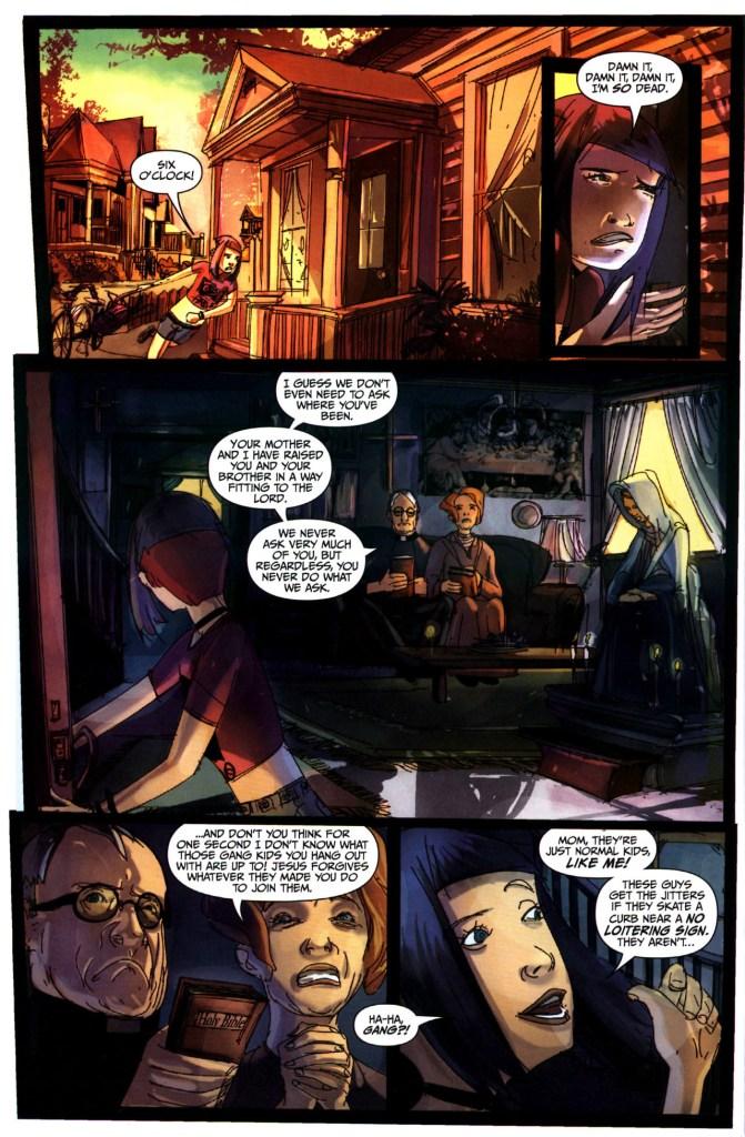 Strange Girl Issue #1 #2 - English 6