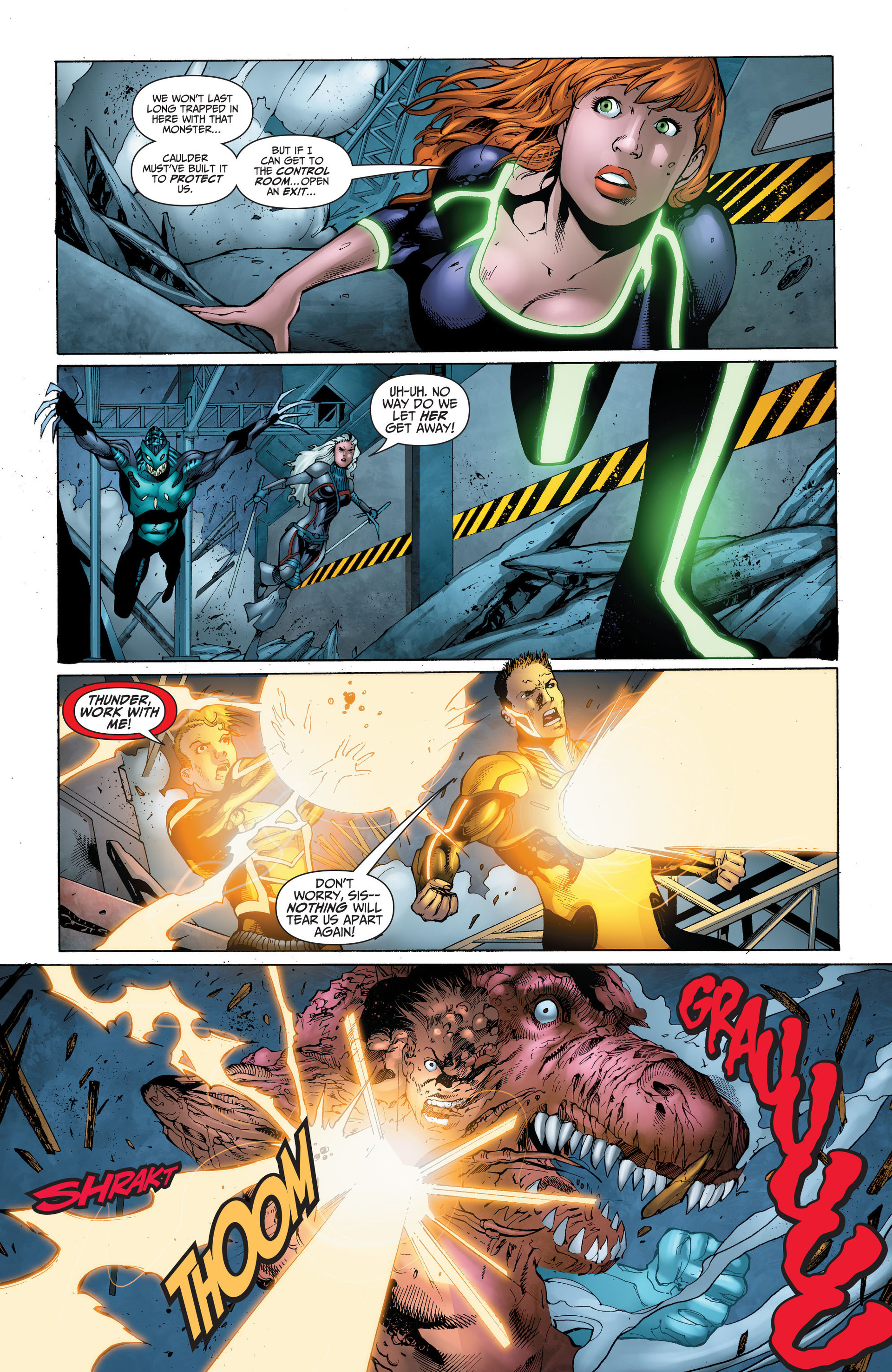 Read online The Ravagers comic -  Issue #11 - 14