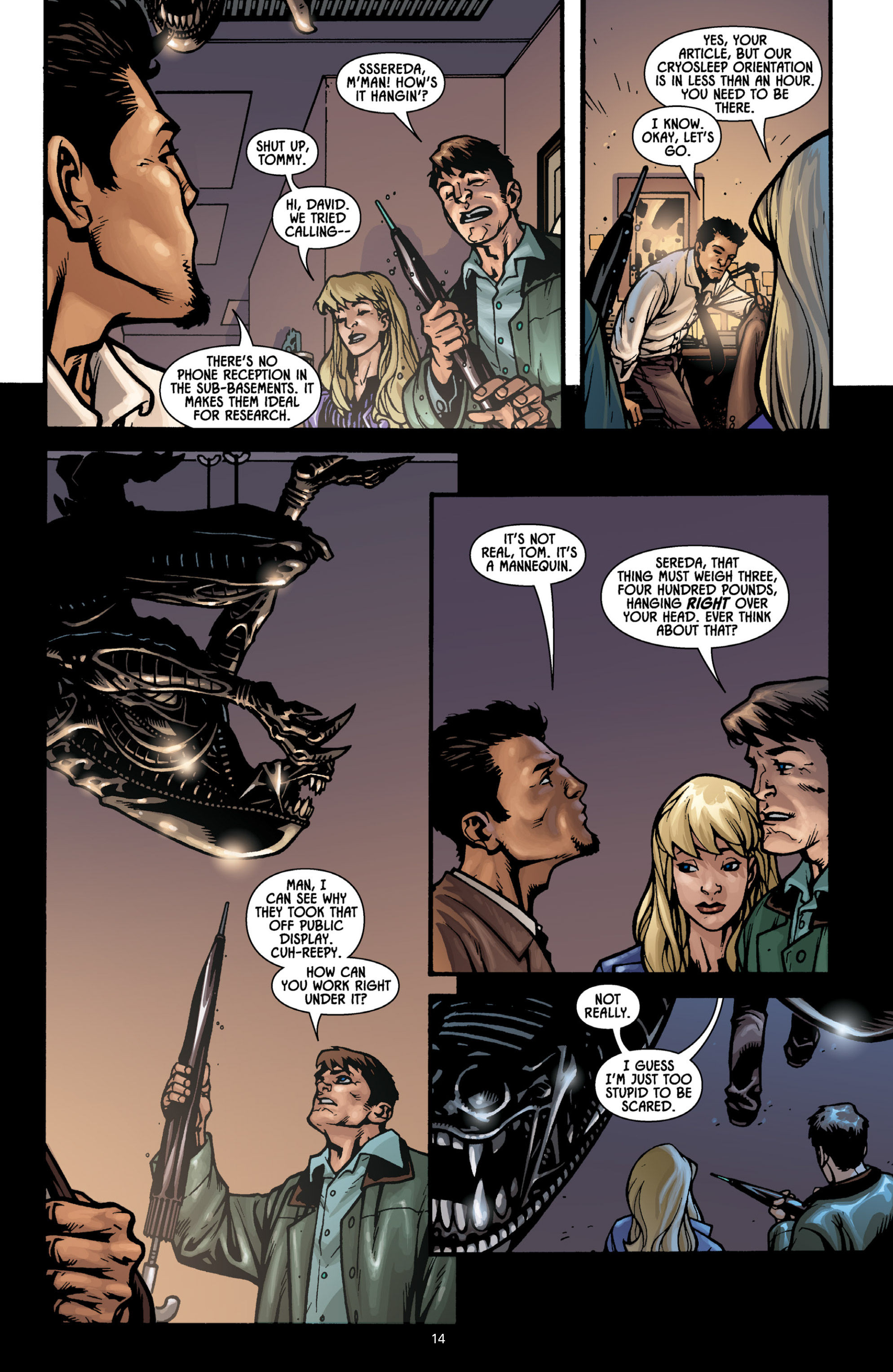Aliens (2009) TPB Page 13